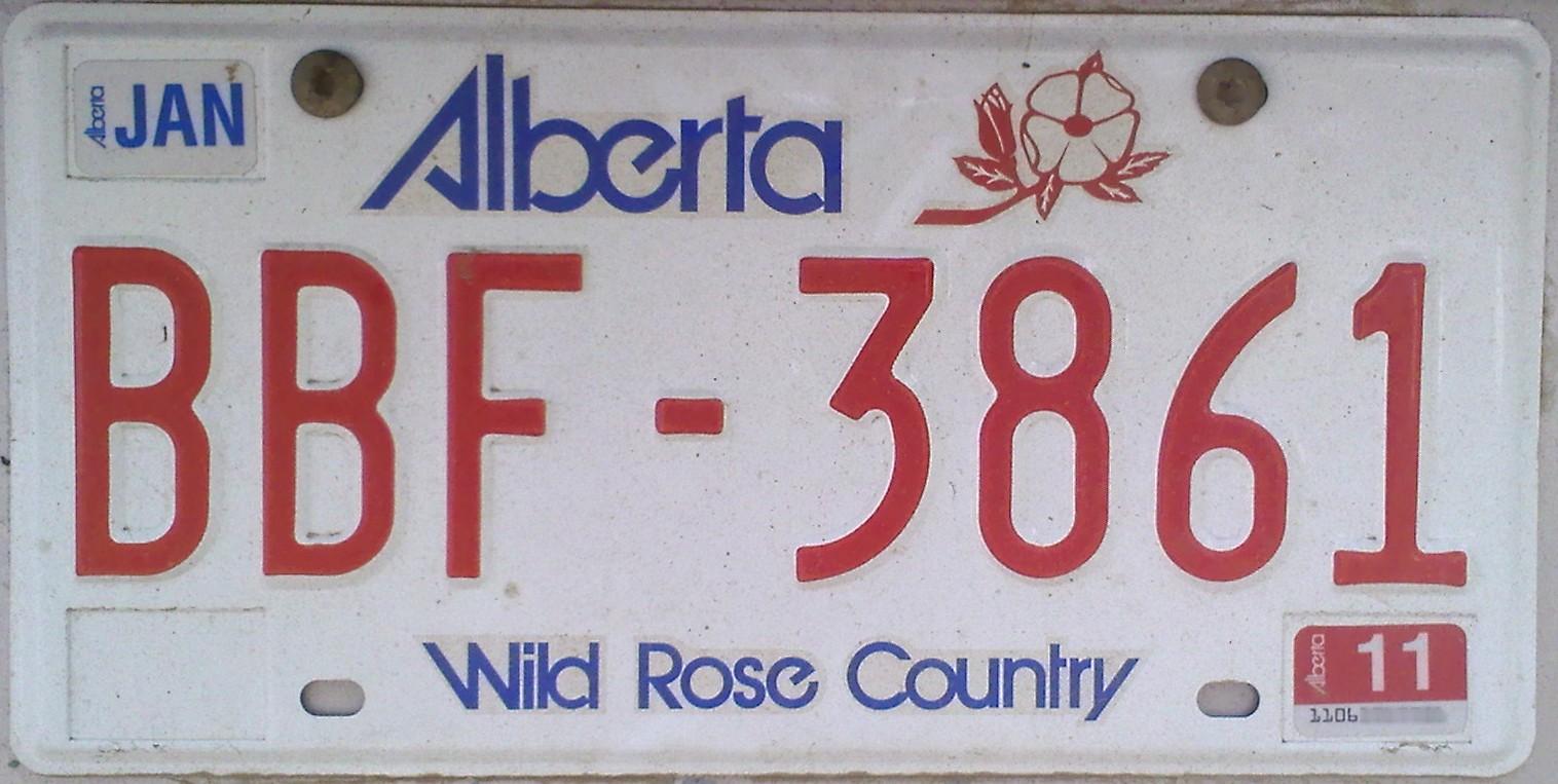 Personalized & Custom Alberta Licence Plates in Calgary ...