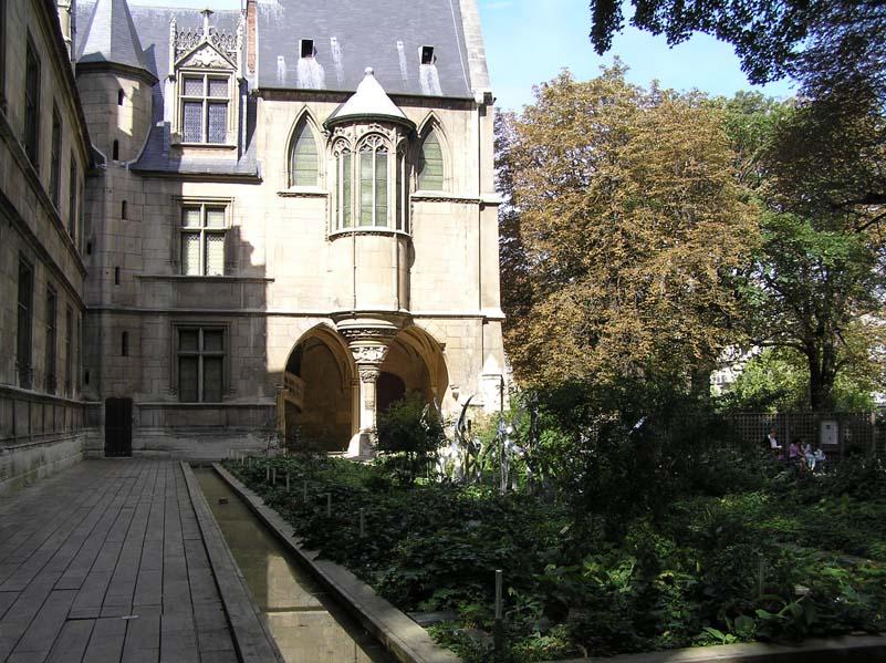Jardin du mus e de cluny wikidata for Bd du jardin botanique 50