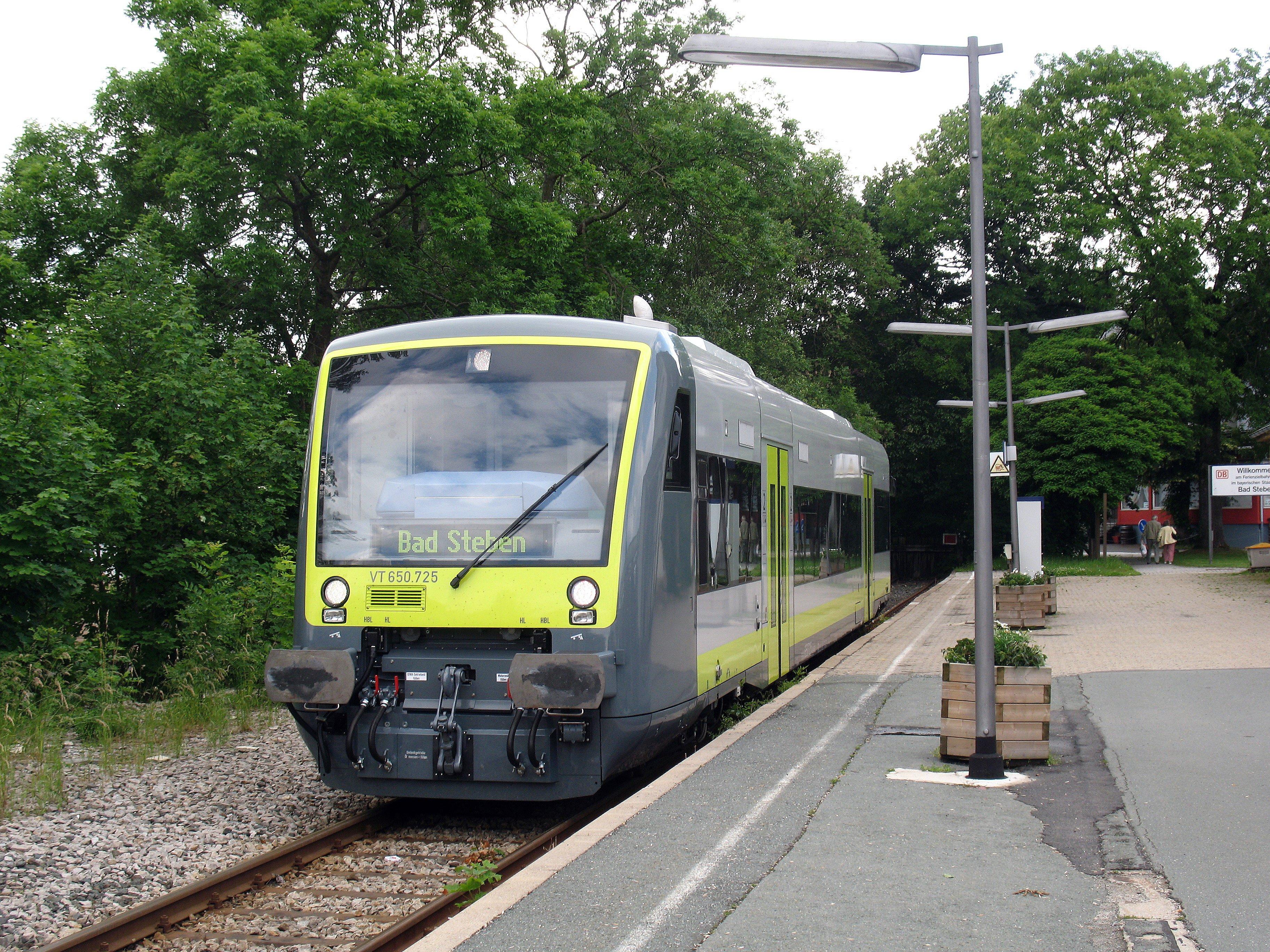 Bahnhof Bad Steben