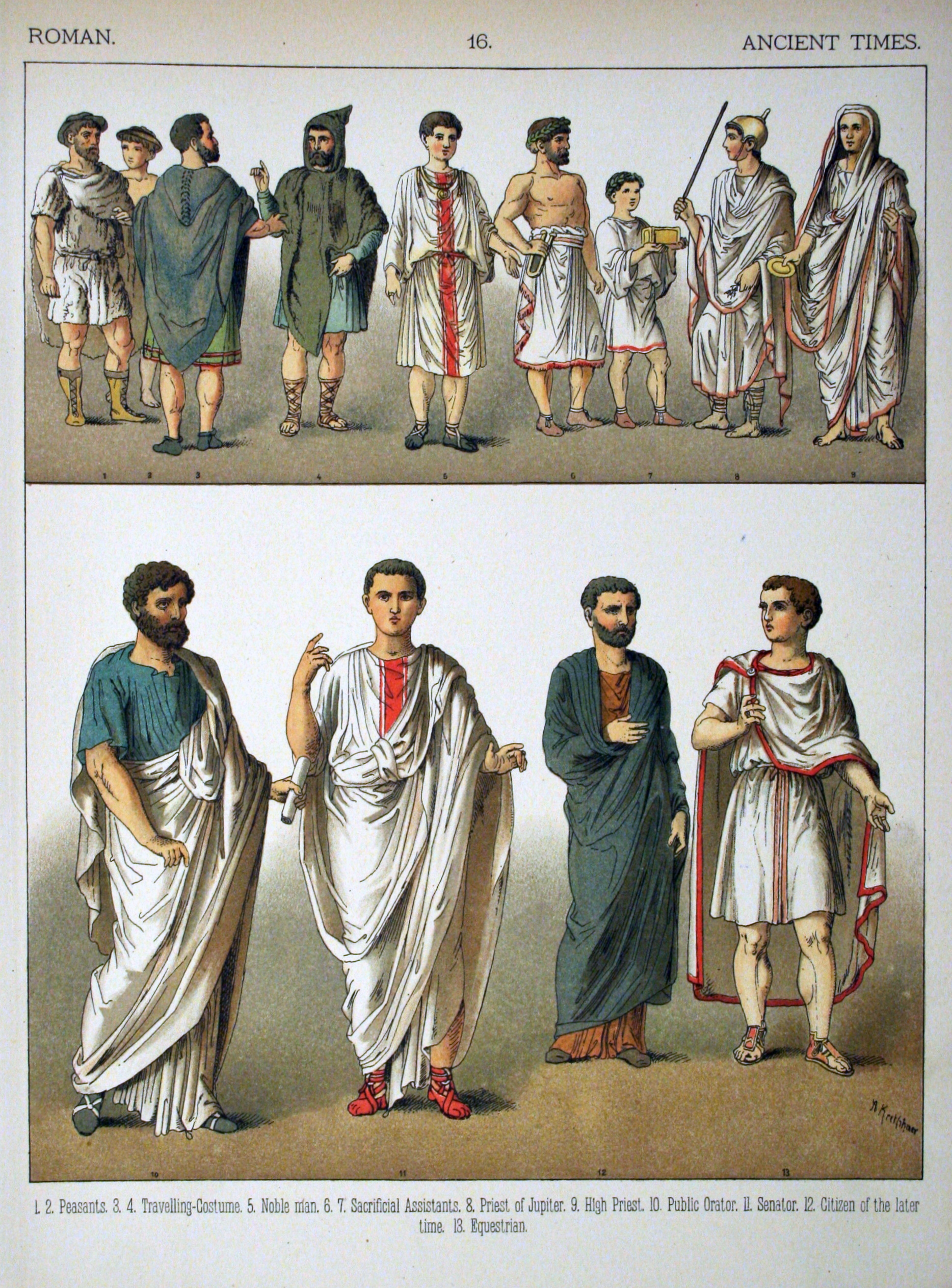 File:Ancient Times, Roman. - 016 - Costumes of All Nations (1882).JPG ...