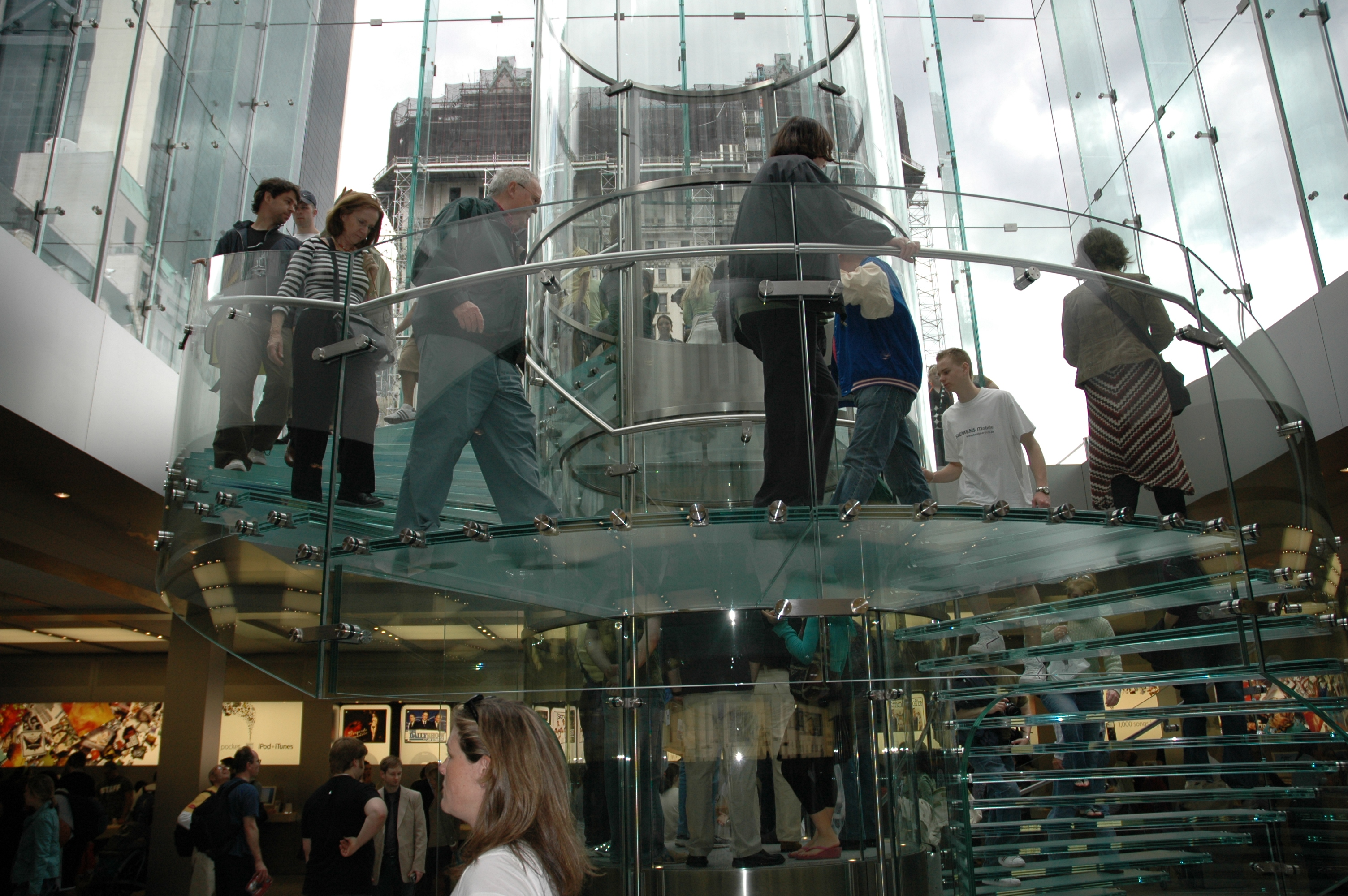 Descrizione apple store fifth avenue new york ny 2006 05 20