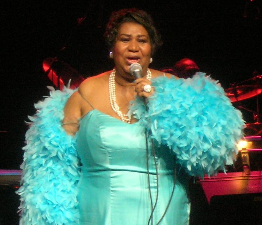 Aretha Franklin nel 2007