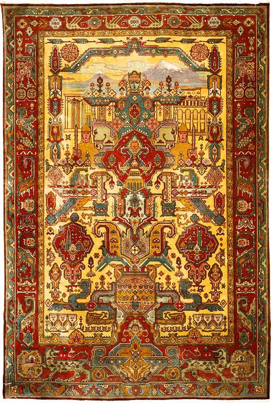 File Armenian Rug Mayr Hayastan 20th Century No 2358