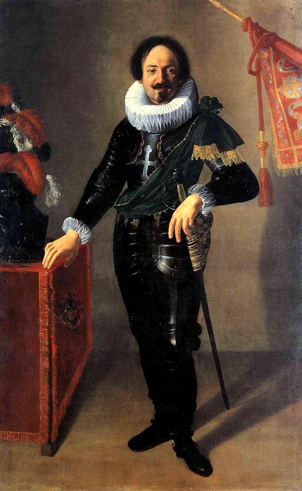 Depiction of Retrato de un confaloniero