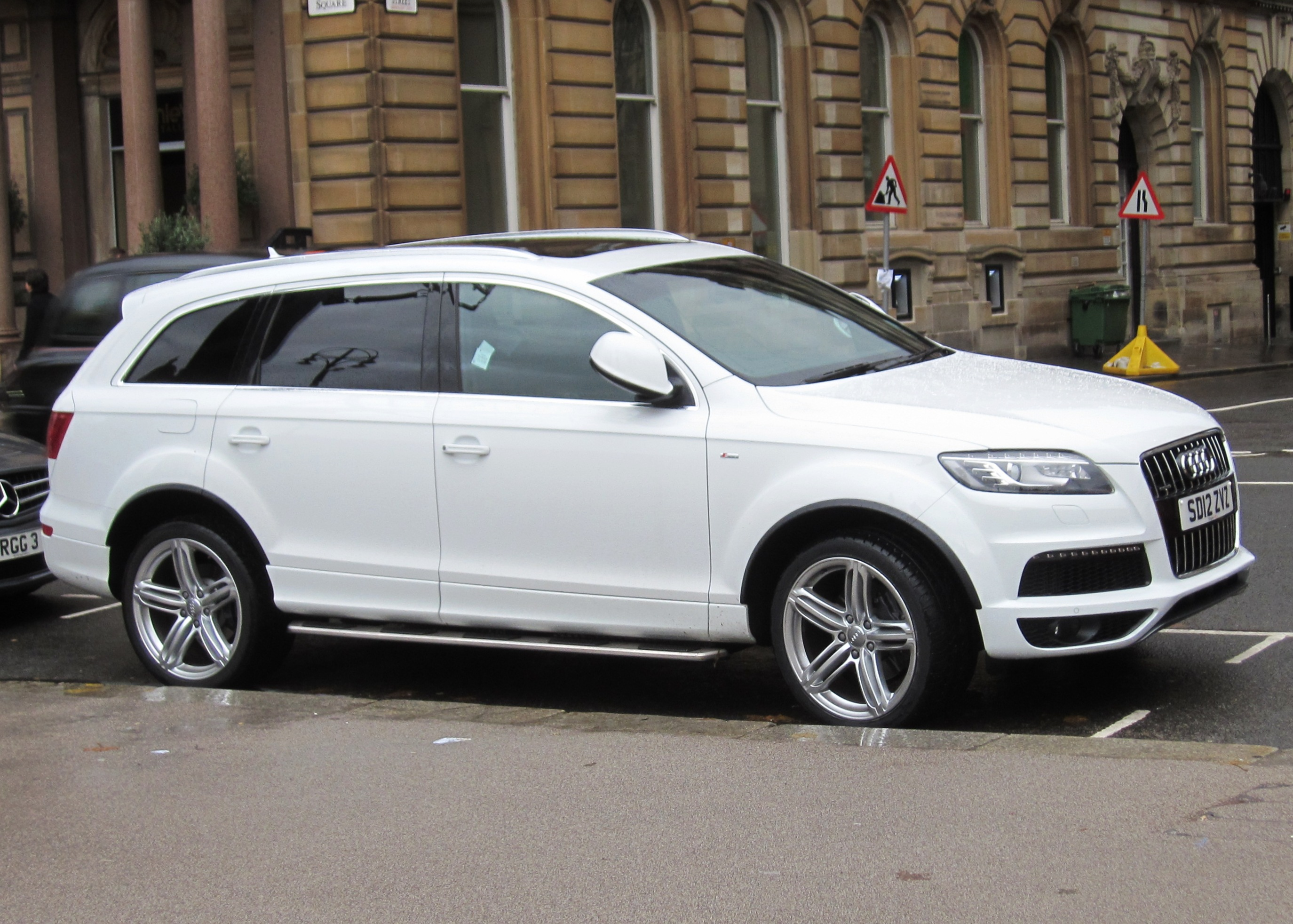 FileAudi Q TDI Clean Diesel Cc Registered April - Audi q7 tdi