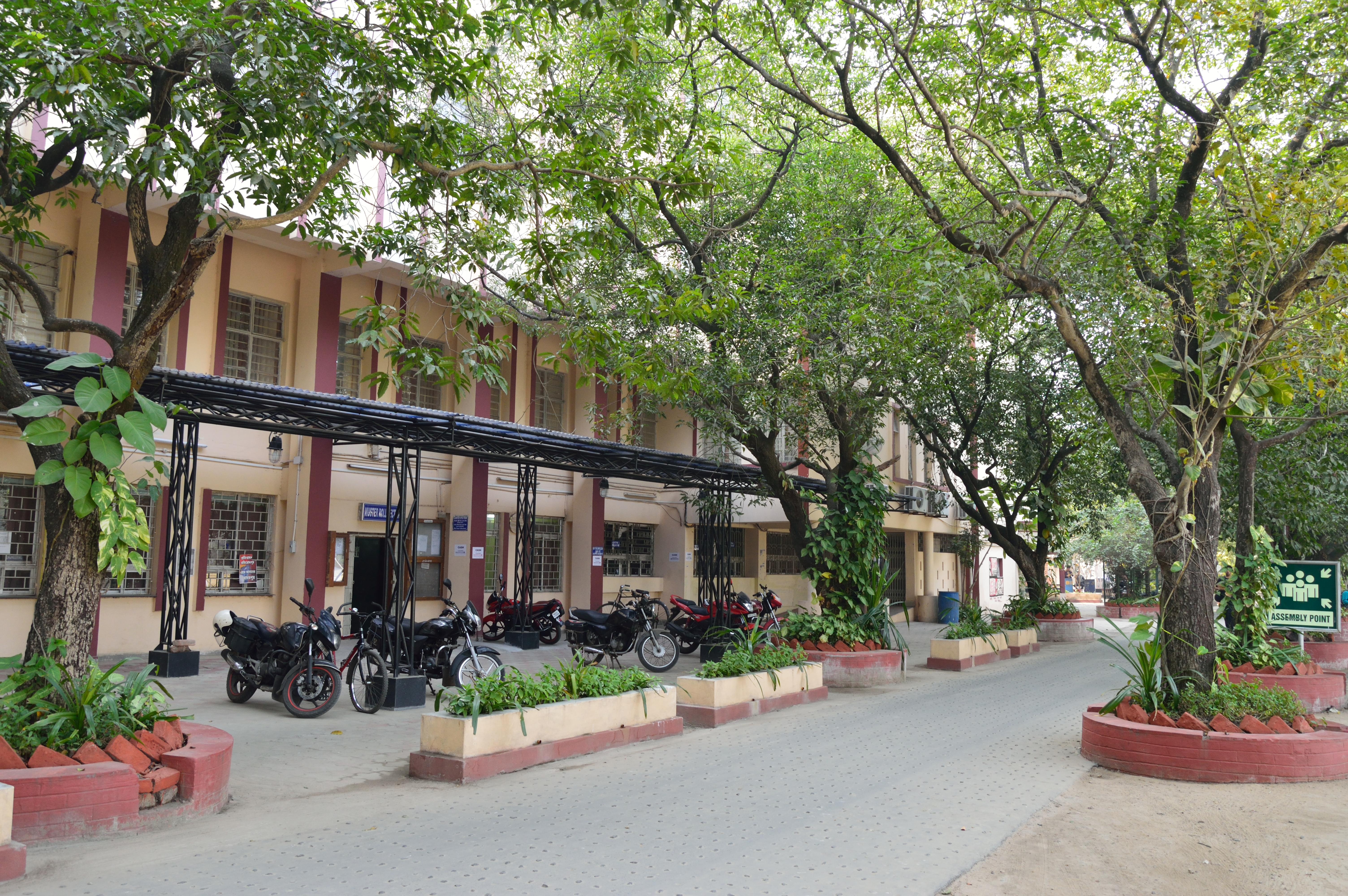 File:Aurobindo Bhavan - Main Administrative Building - Jadavpur University - Kolkata 2015-01