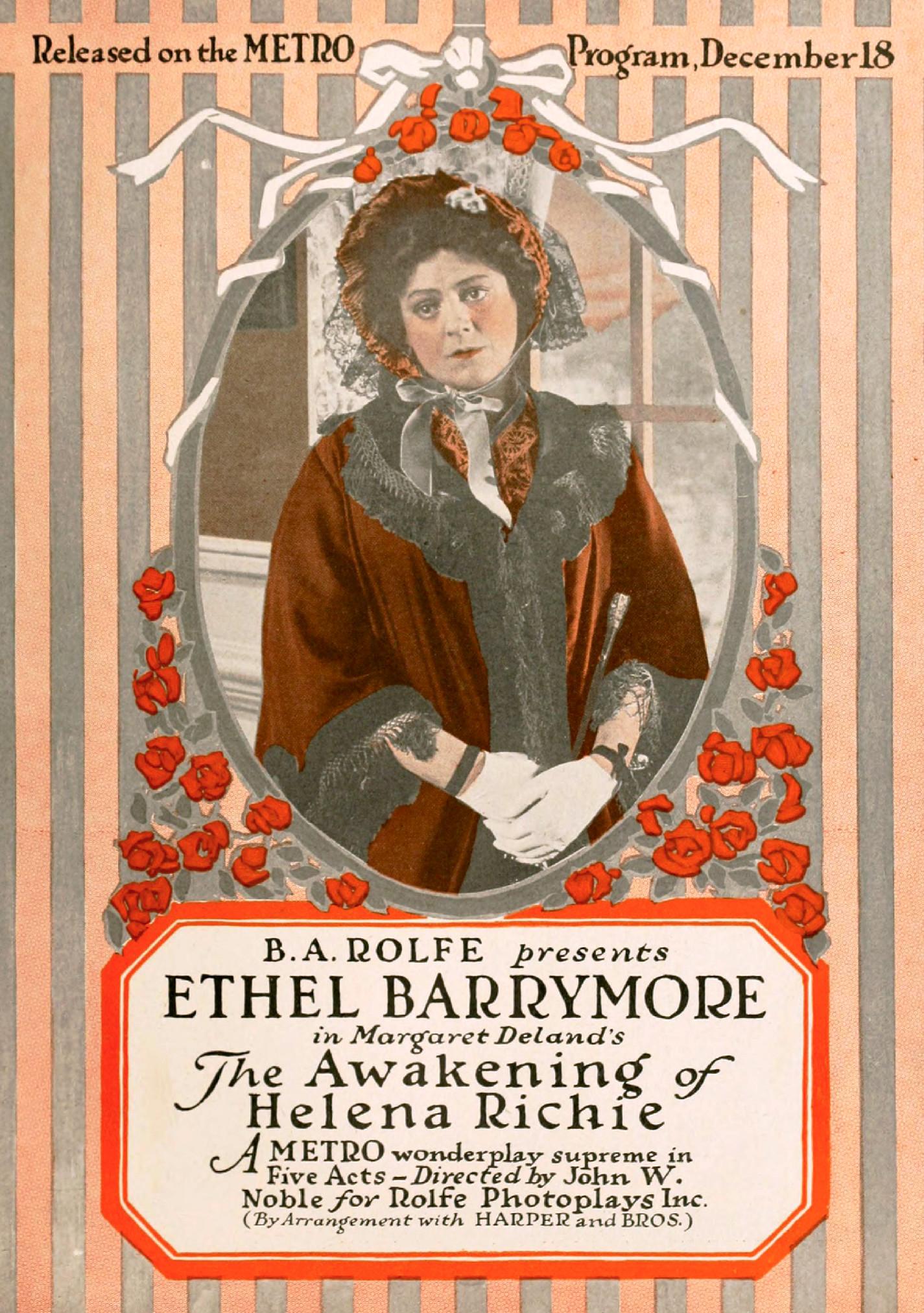 The Awakening Of Helena Richie Film Wikipedia