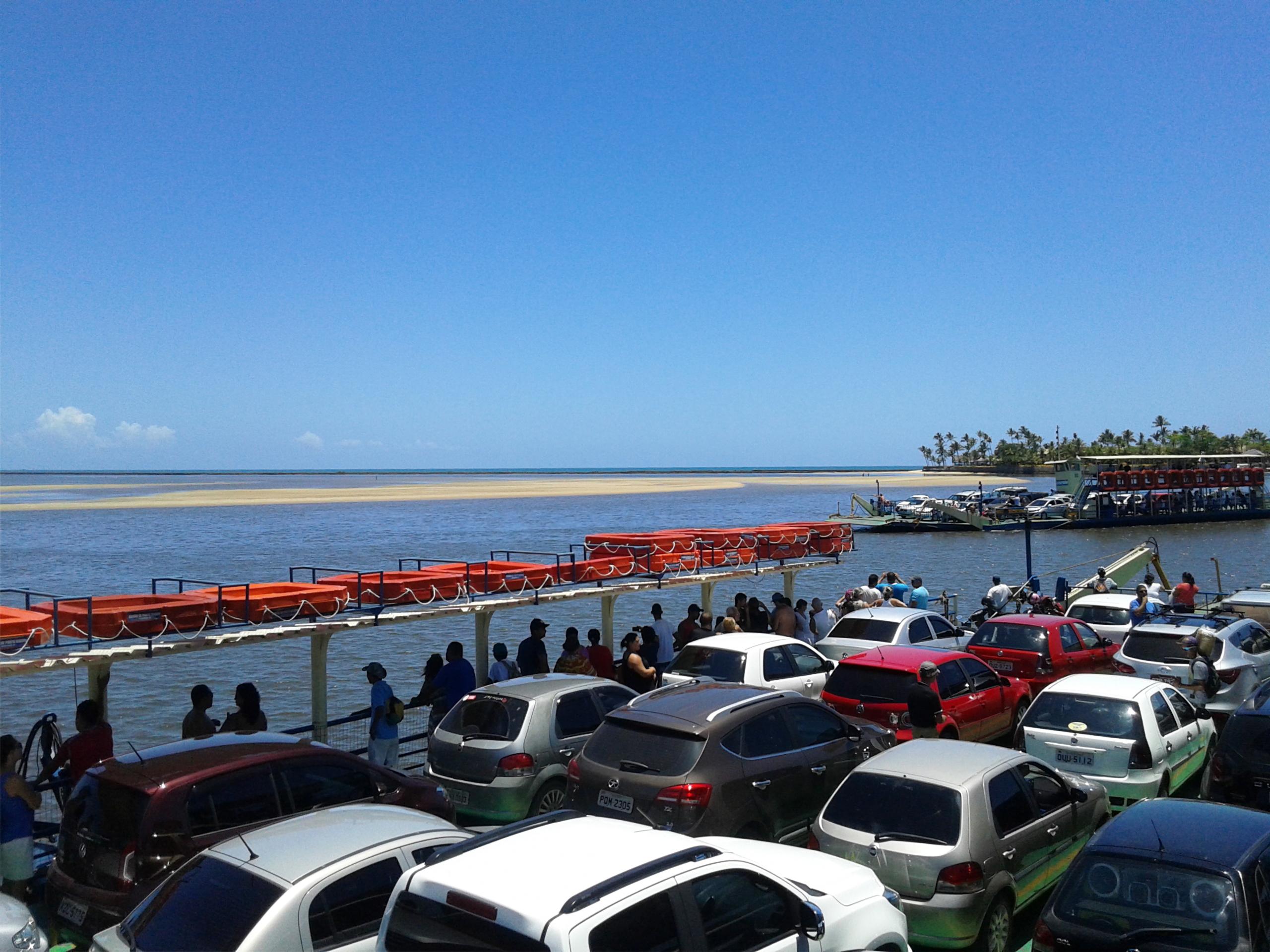 Quinta do porto hotel amp marina arraial d ajuda bahia - Balsas No Rio Buranh M Principal Acesso Ao Distrito De Arraial D Ajuda