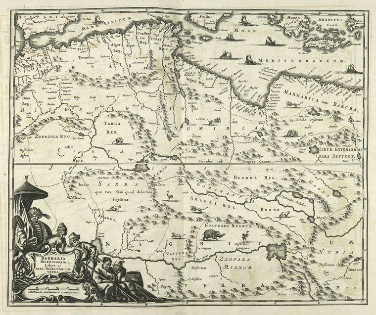 ملفBarbaria Biledulgered O Libye Et Pars Nigritarum Terra Mapjpg - Pars map