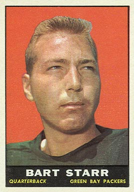 Quarterback Bart Starr was awarded in 1966 after passing for 2,257 yards and 14 touchdowns and leading the Green Bay Packers to Super Bowl I.[19]