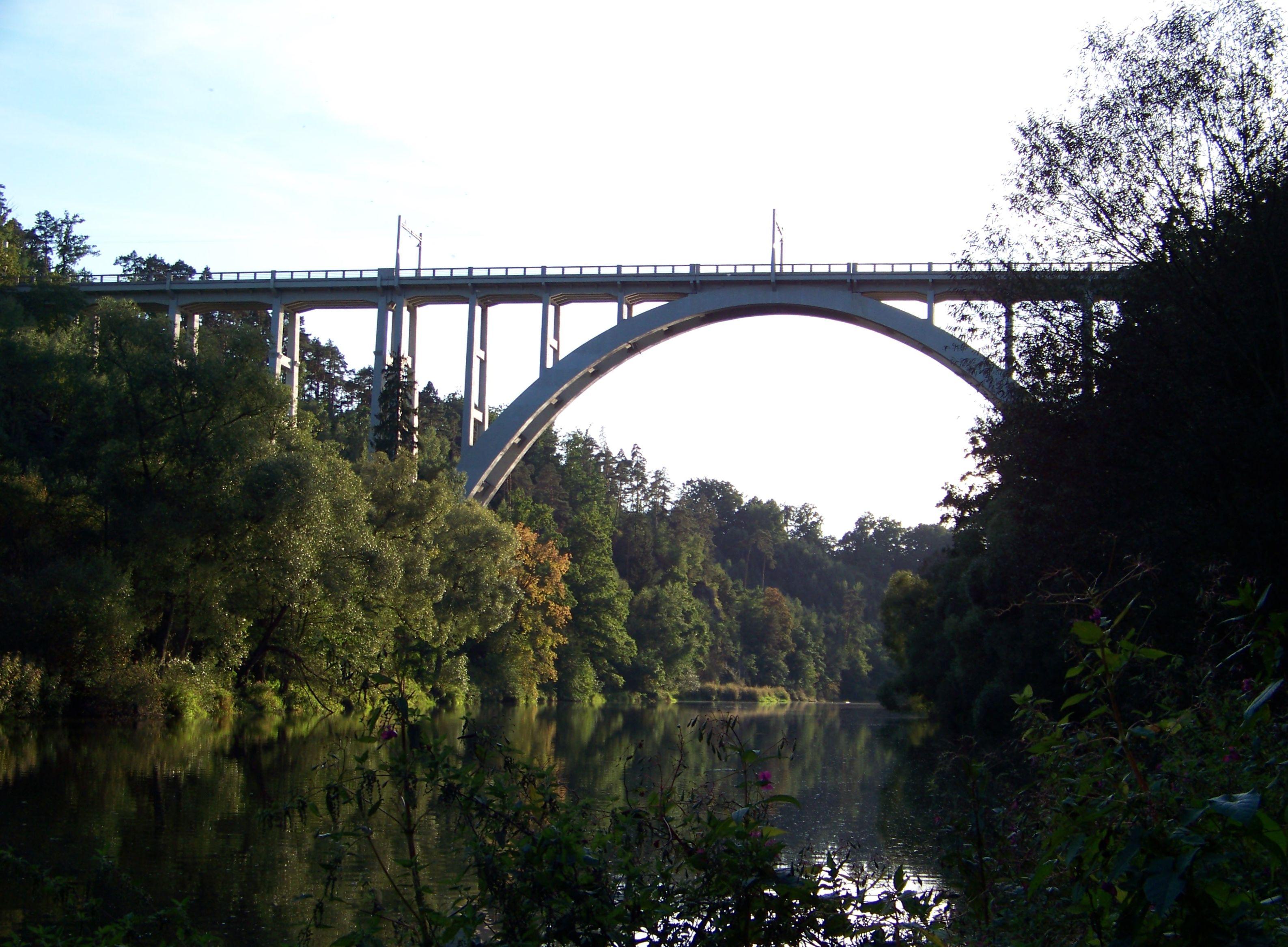 Brücke von Bechyně