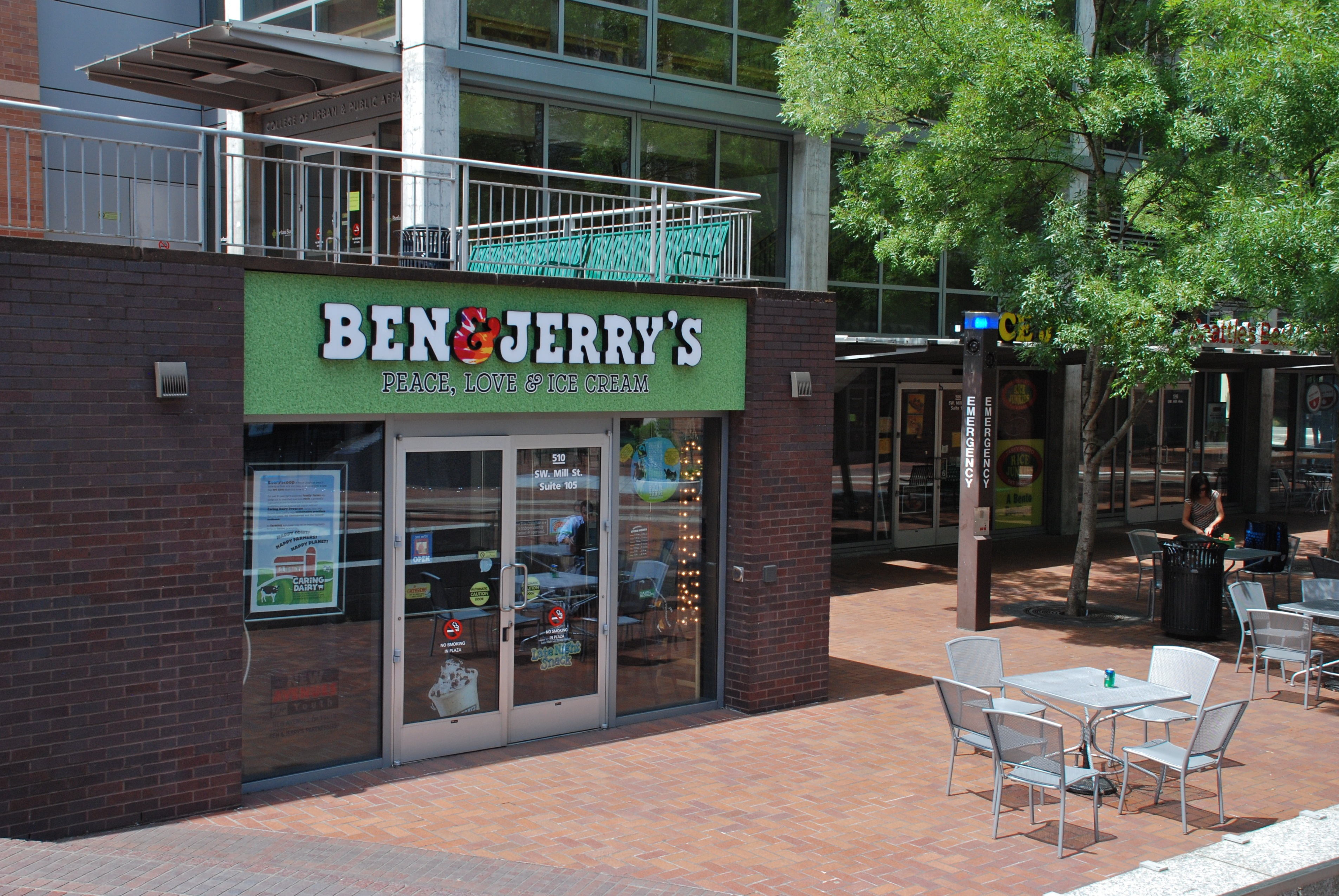 Below is a list of Ben & Jerry's mall/outlet store locations in Palo Alto, California - including store address, hours and phone numbers. There are 5 Ben & Jerry's mall stores in California, with 0 locations in or near Palo Alto (within miles).