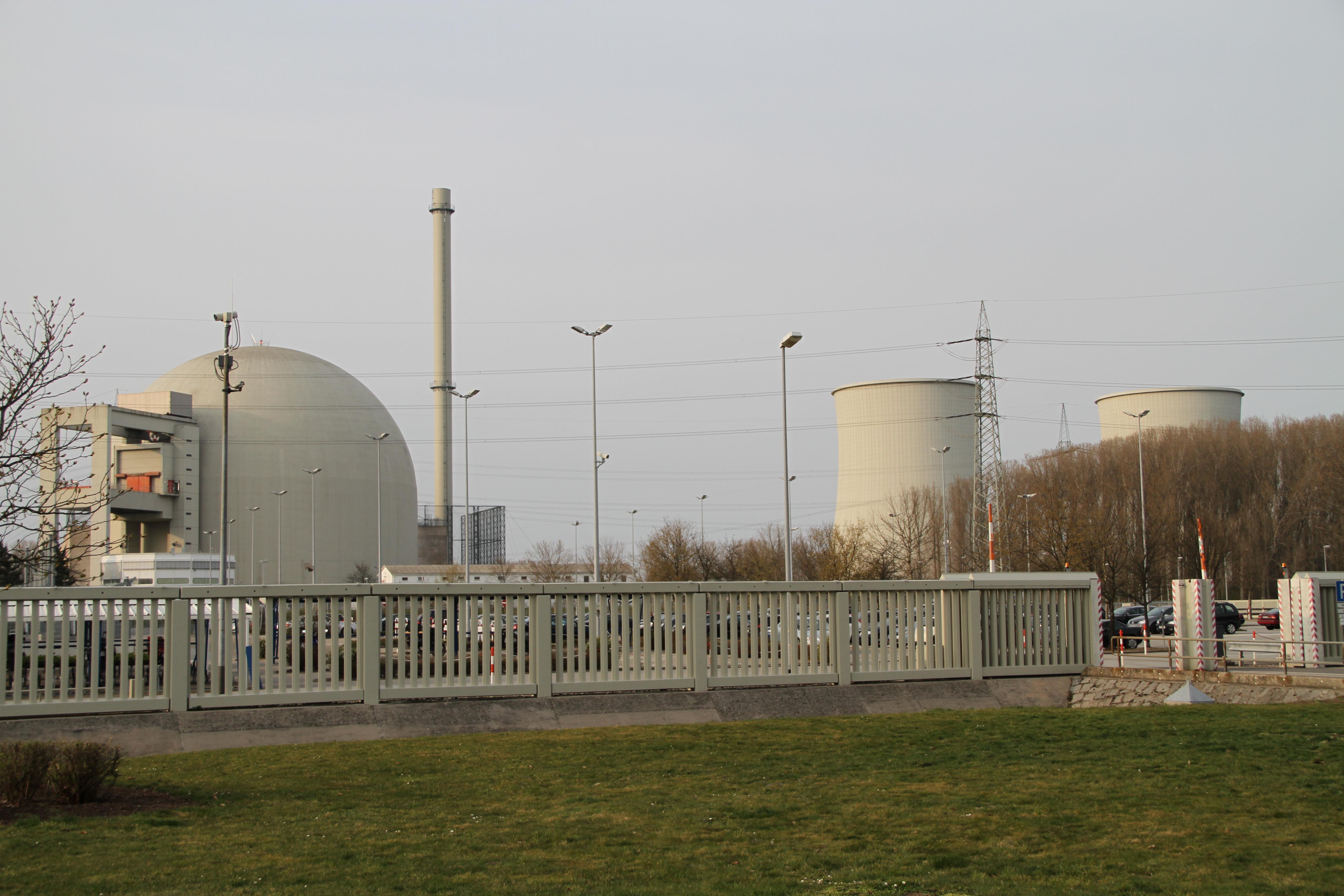 Description biblis nuclear power plant