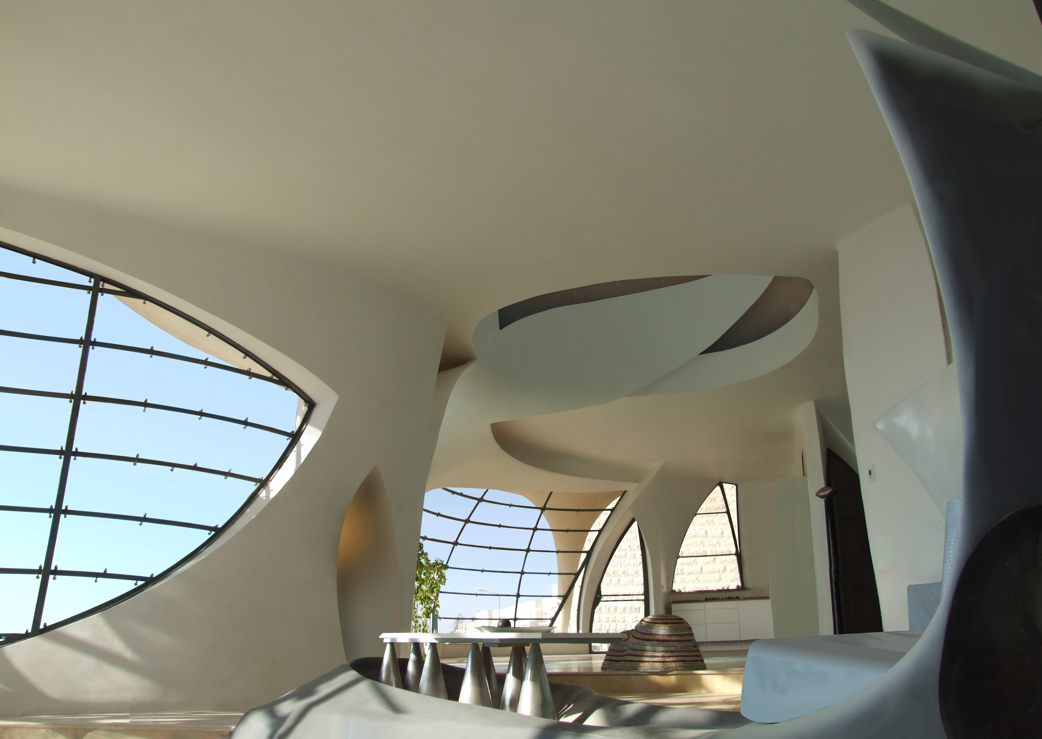 file biomorphic house interior 1     wikimedia commons