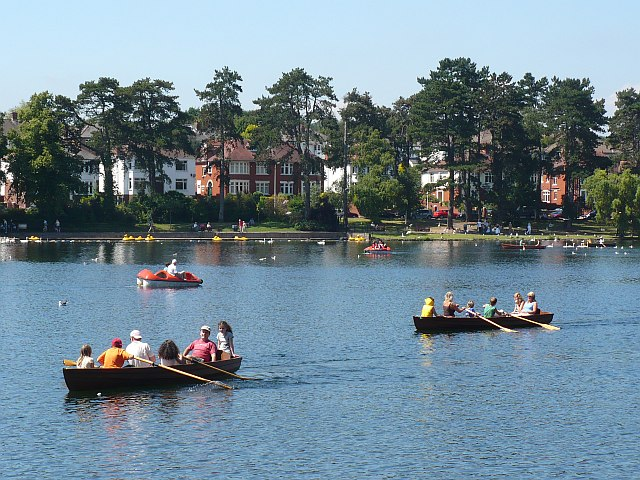 Boating at Roath Park - geograph.org.uk - 900860