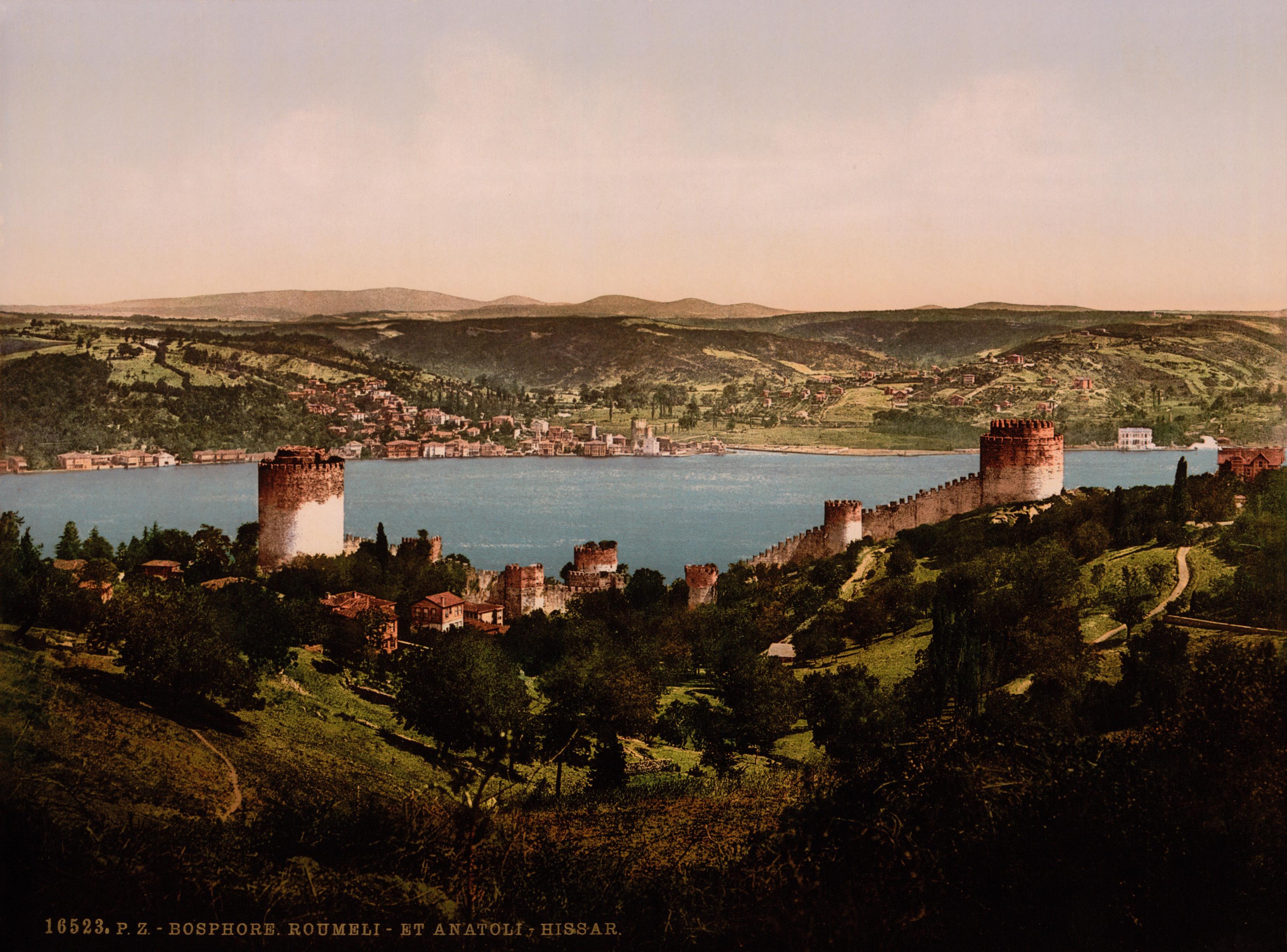 C A Turkey Istanbul File:Bosphorus, Rumeli...