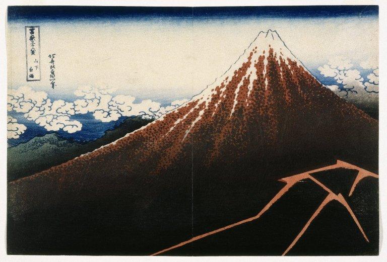 File:Brooklyn Museum - A Shower Below the Summit from the series Thirty -six Views of Mount Fuji (Fugaku sanjurokkei) - Katsushika Hokusai.jpg