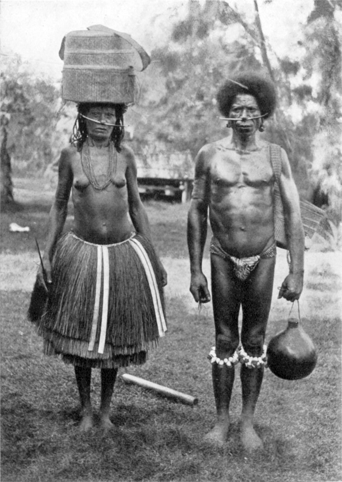 Trobriand Islanders Of Papua New Guinea