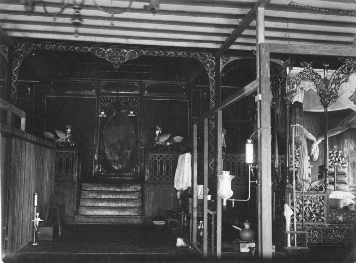 File collectie tropenmuseum het interieur van het paleis - Makers van het interieur ...
