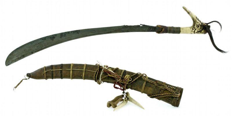 filecollectie tropenmuseum zwaard met schede tmnr a6705