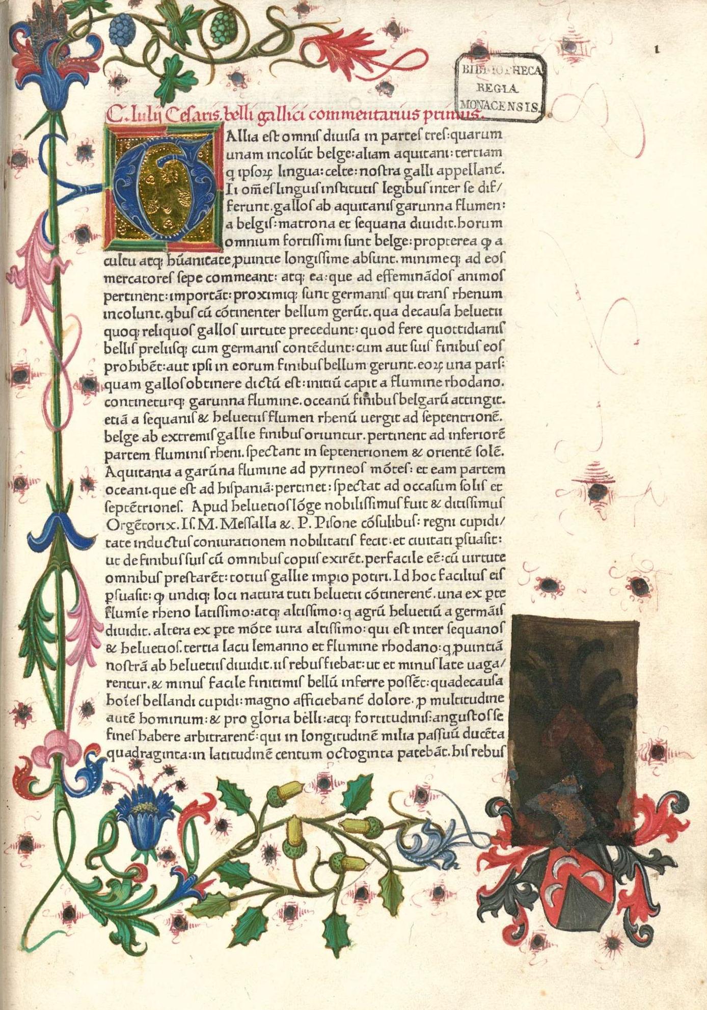 Commentarii De Bello Gallico Wikipedia Buku Gaul