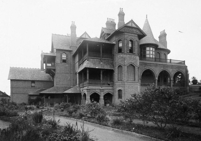 Camelot House, Kirkham, Australia (ca 1900) designed by architect John Horbury Hunt, for James White, New South Wales politician and great-uncle of author Patrick White.