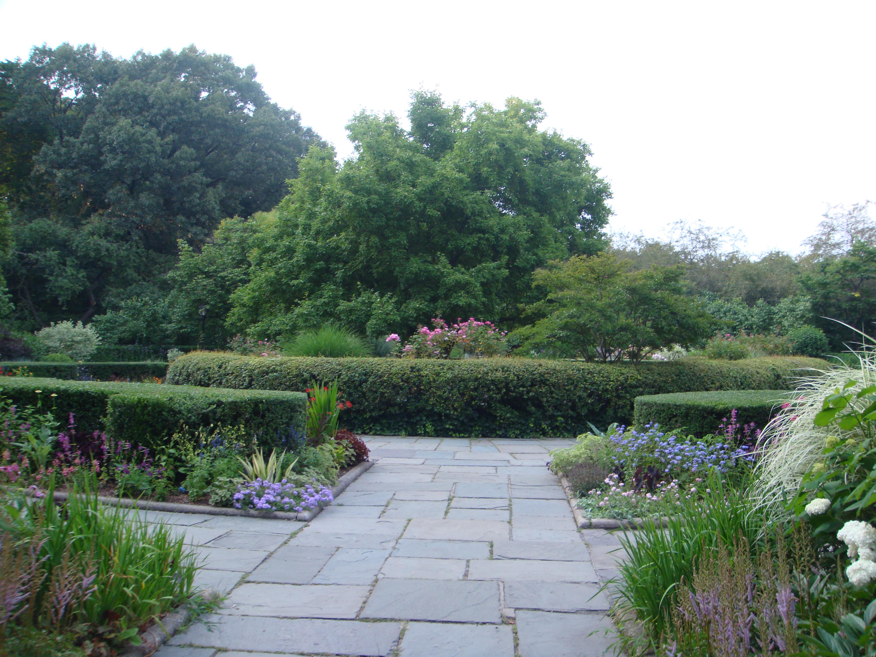 filecentral park conservatory garden panoramiojpg - Central Park Conservatory Garden