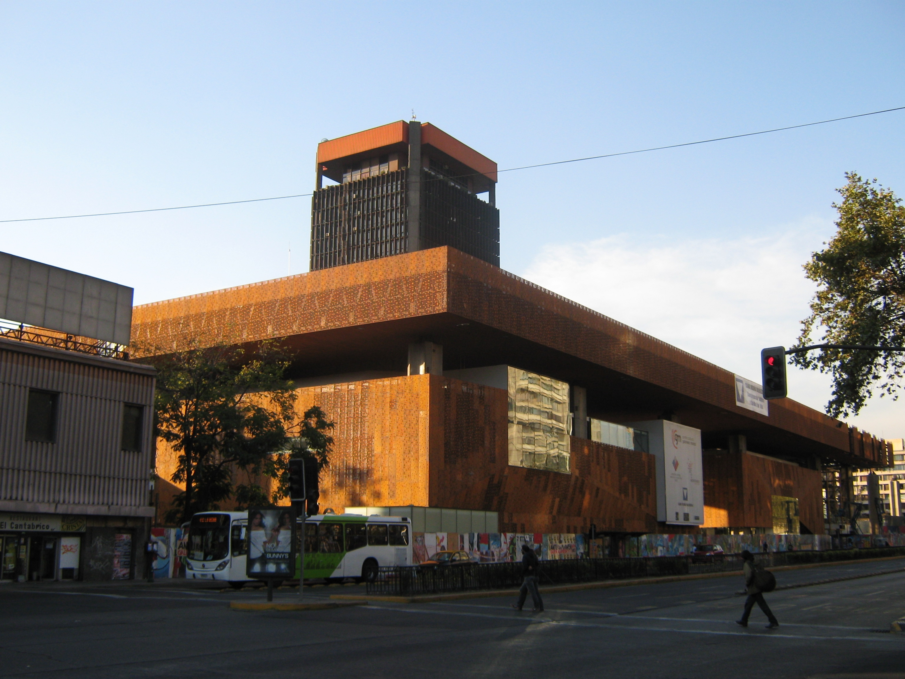 Centro Cultural Gabriela Mistral.