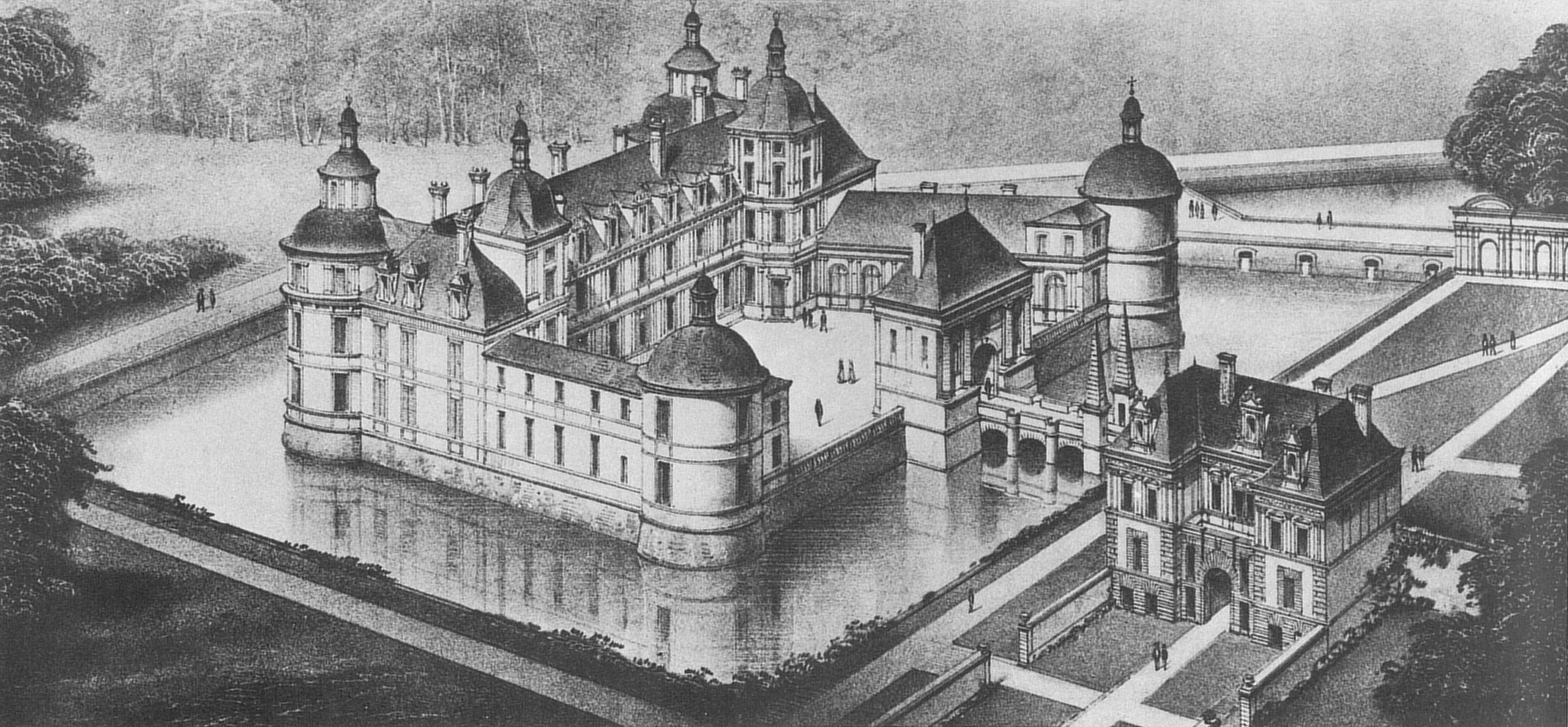 File ch teau de tanlay wikimedia commons - Dessin de chateau ...