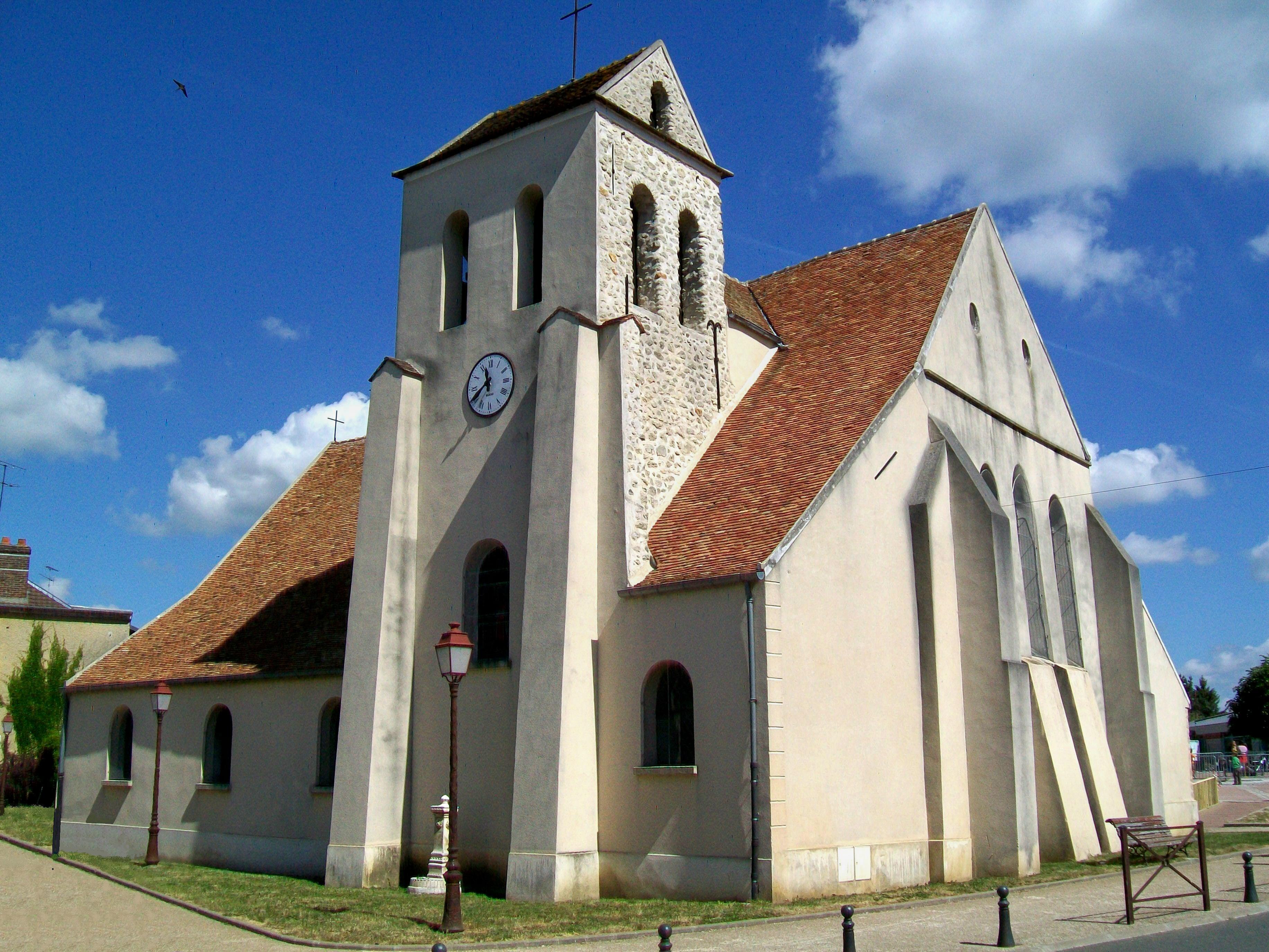 Chaumontel France  city photos gallery : Chaumontel 95 , église N.D. de la Nativité Wikimedia ...