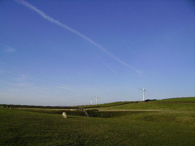 Chelker Wind Farm - geograph.org.uk - 92521