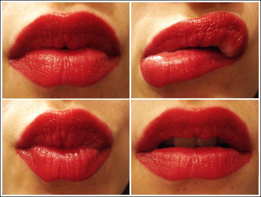 sexy red lipstick