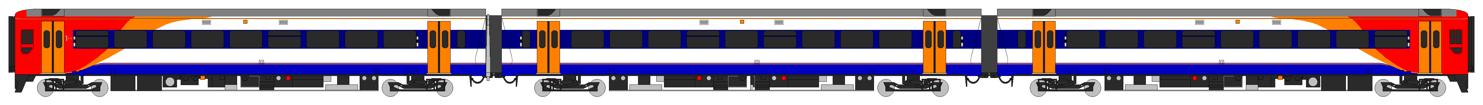 File Class 159 South West Trains Diagram Png