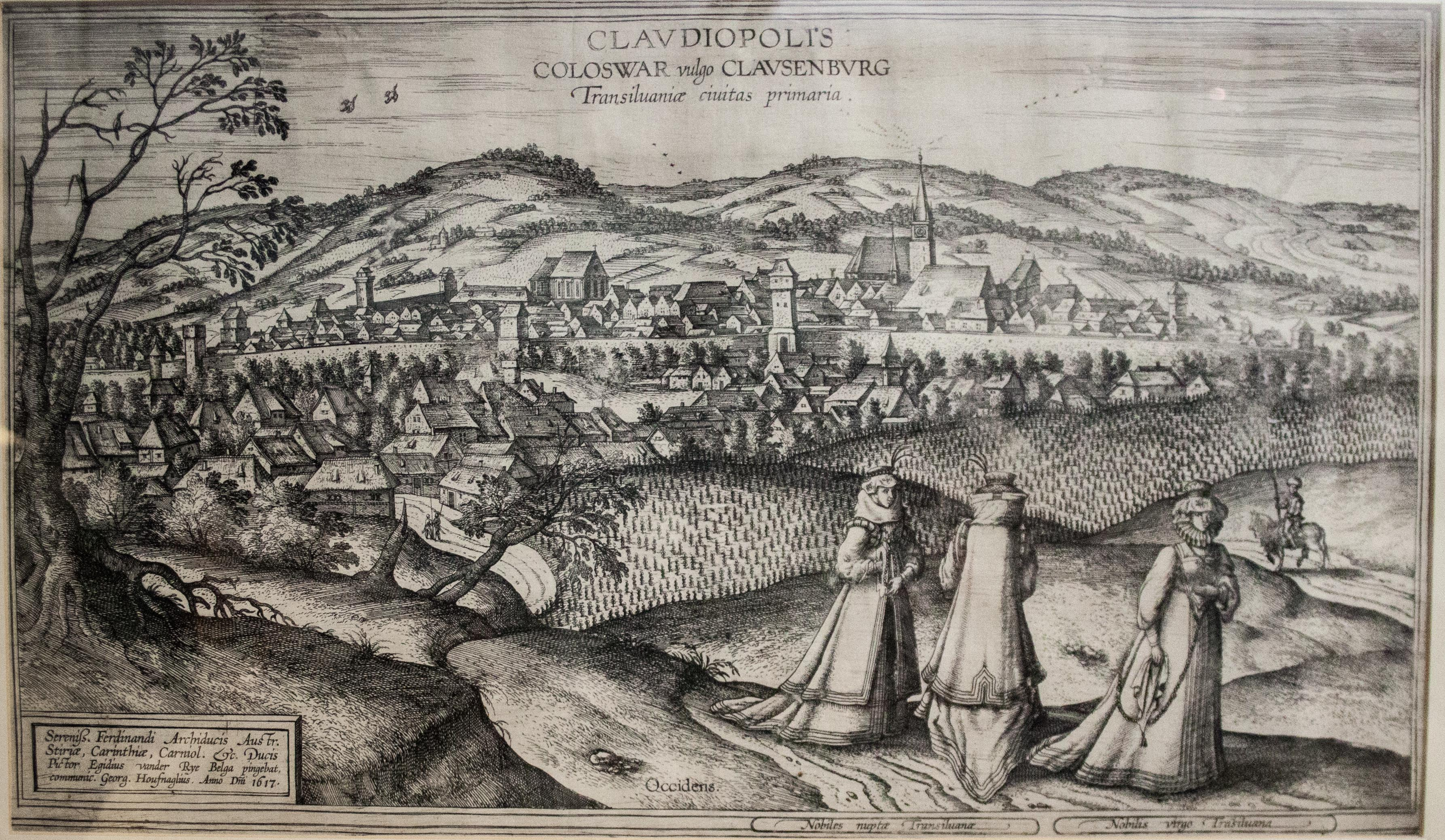 File:Cluj by Joris Hoefnagel, 1617 (black and white version).jpg
