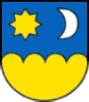 Coat of arms of Šahy.png