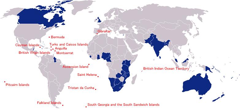 Islands of British Overseas Territories