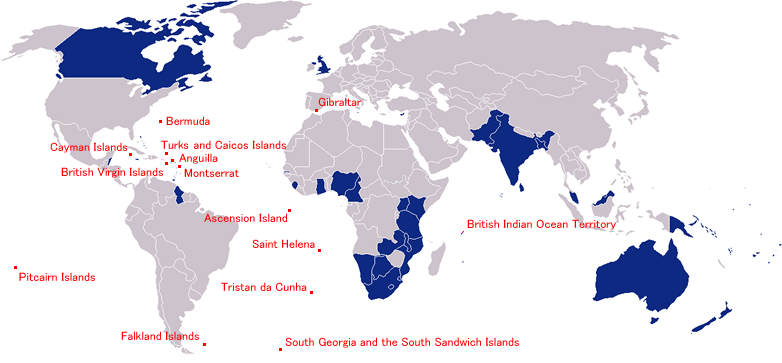 Map Of Uk Overseas Territories.File Commonwealth And Bots Jpg Wikimedia Commons