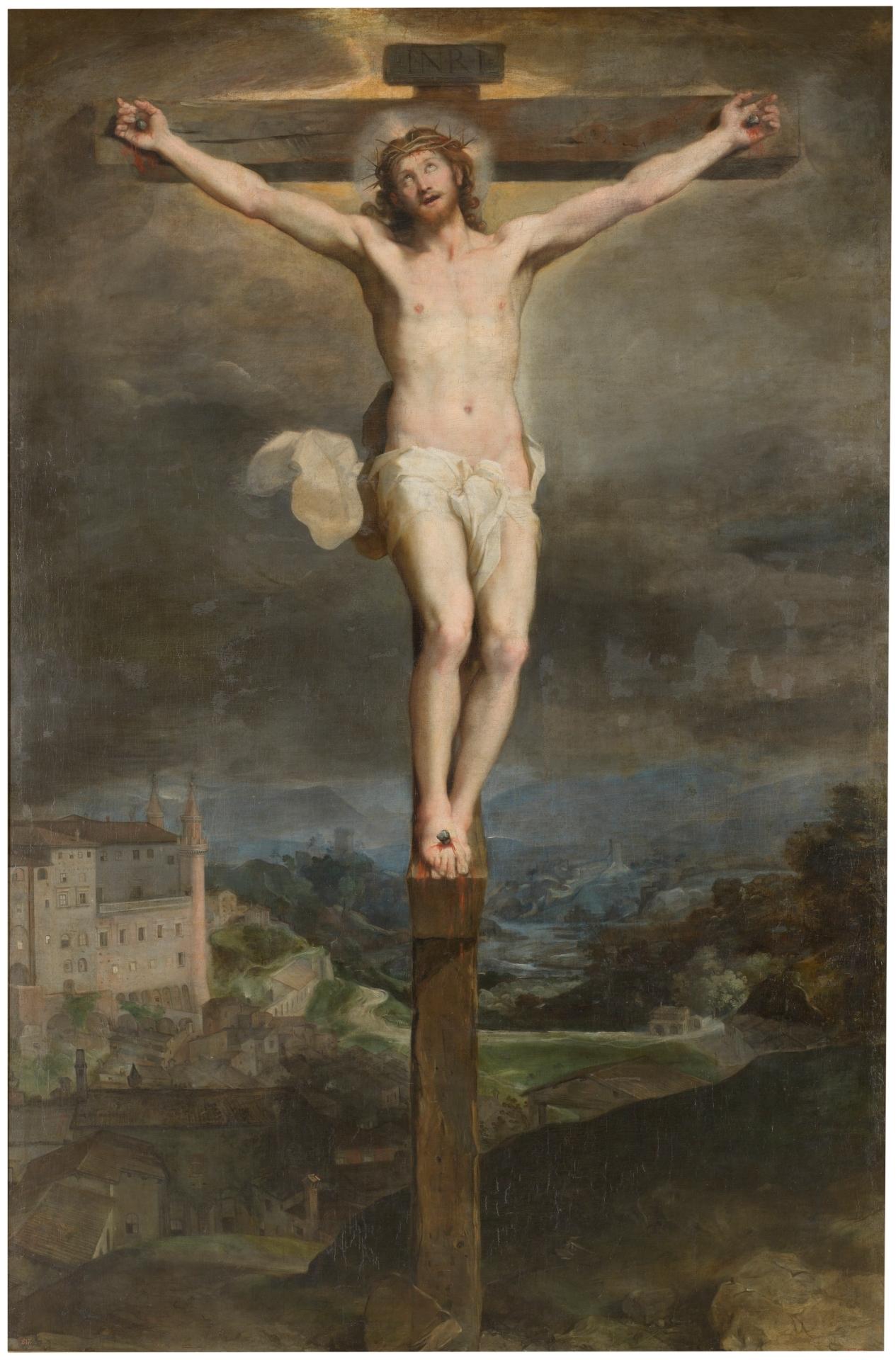 Descripción Cristo en la cruz (Barocci).jpg