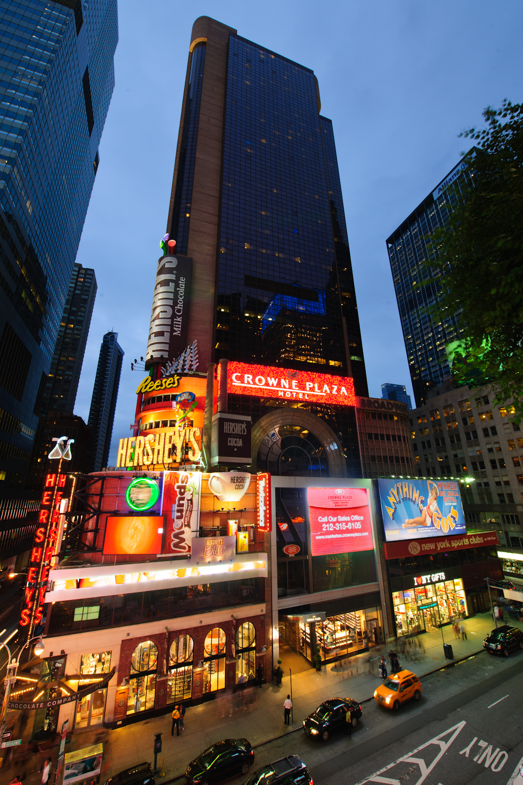 crowne plaza hotel times square wikipedia