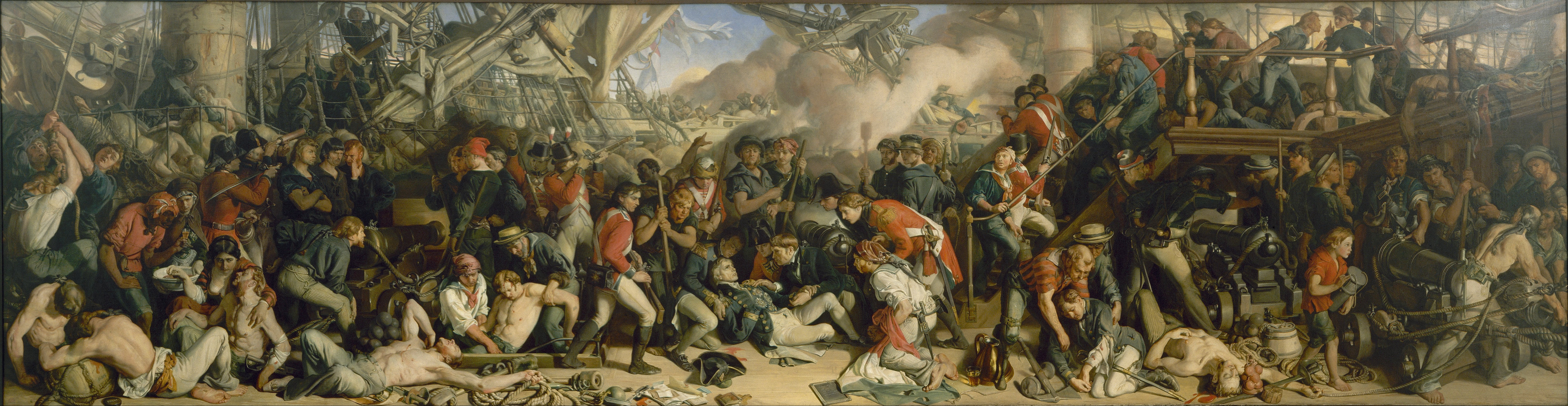 Daniel_Maclise_-_The_Death_of_Nelson_-_G