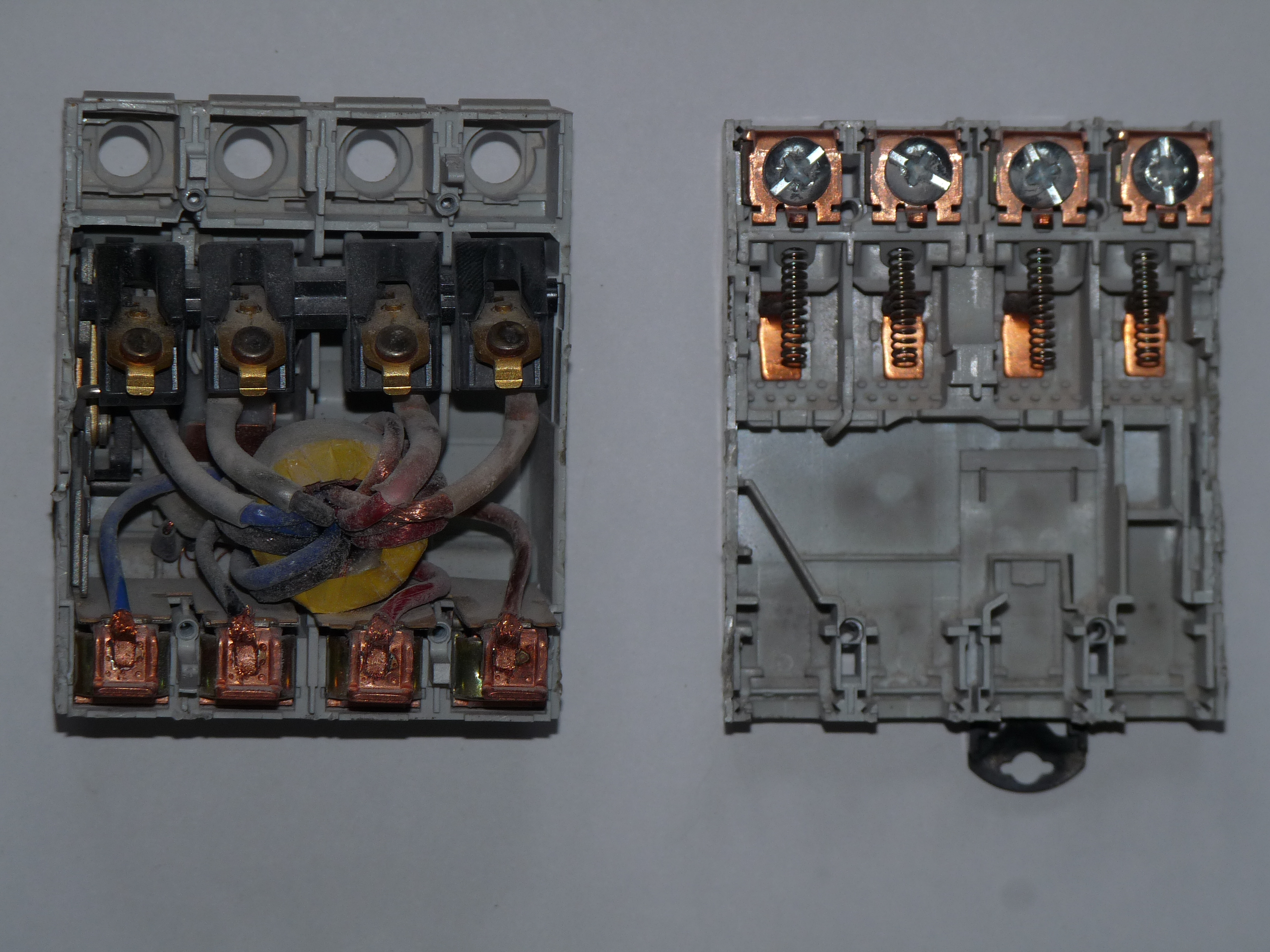 Disassembled_GE_fused_RCD 7 pole fused junction box efcaviation com 7 pole fused junction box at reclaimingppi.co