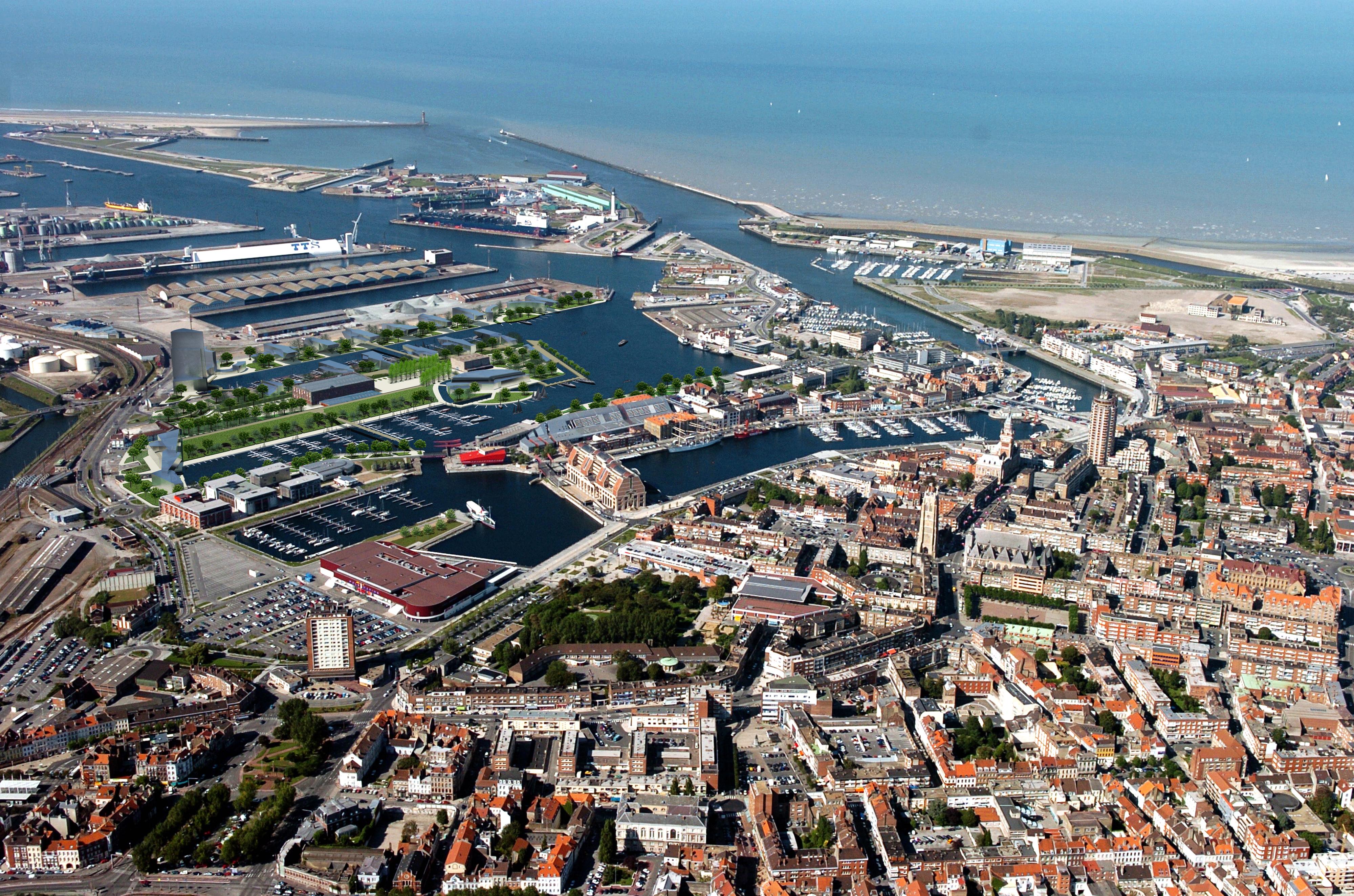 Dunkerque actu urbaine architecturale skyscrapercity - Dunkirk port france address ...
