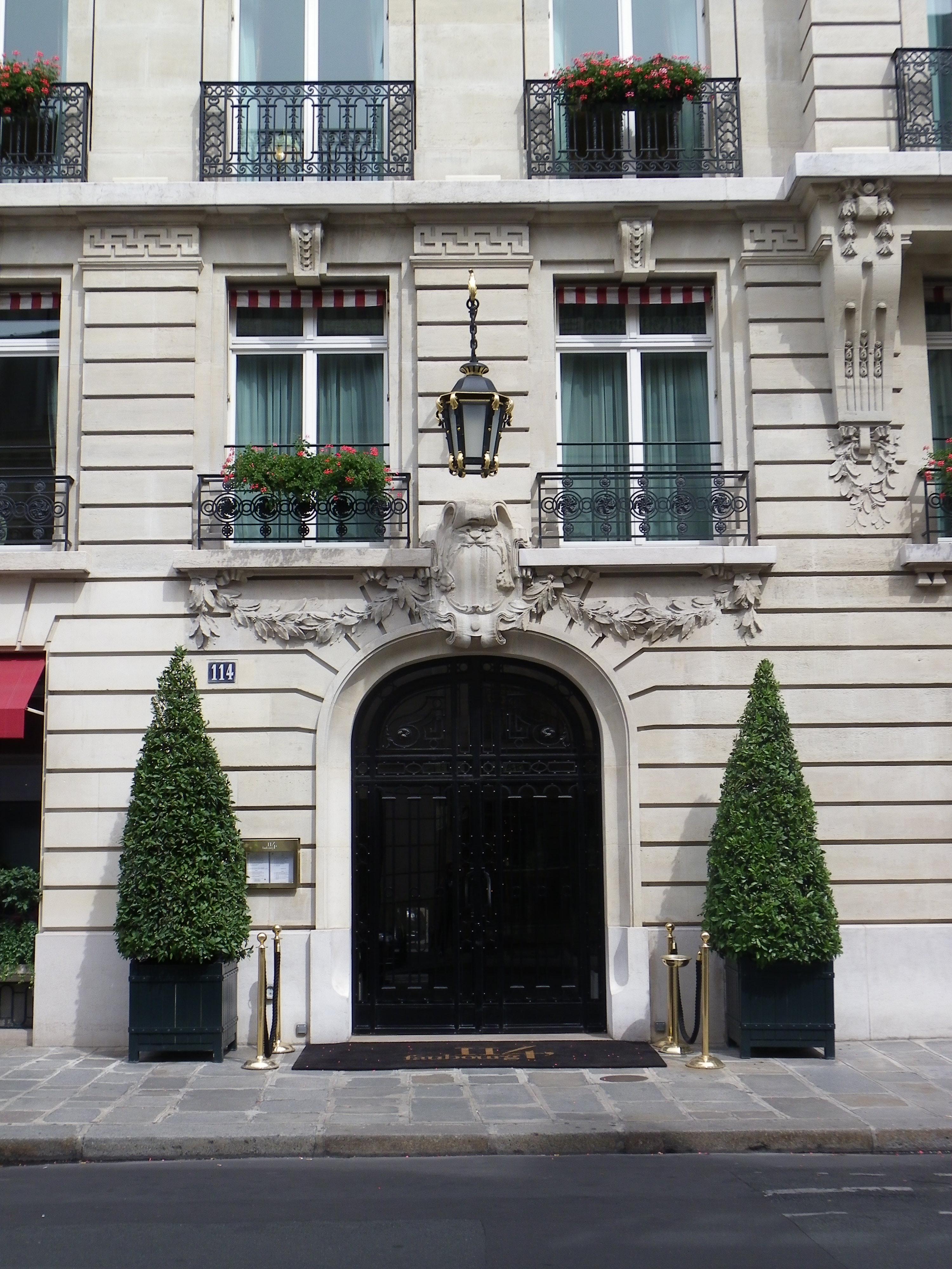 File Entr E Du 114 Faubourg Rue Du Faubourg Saint Honor