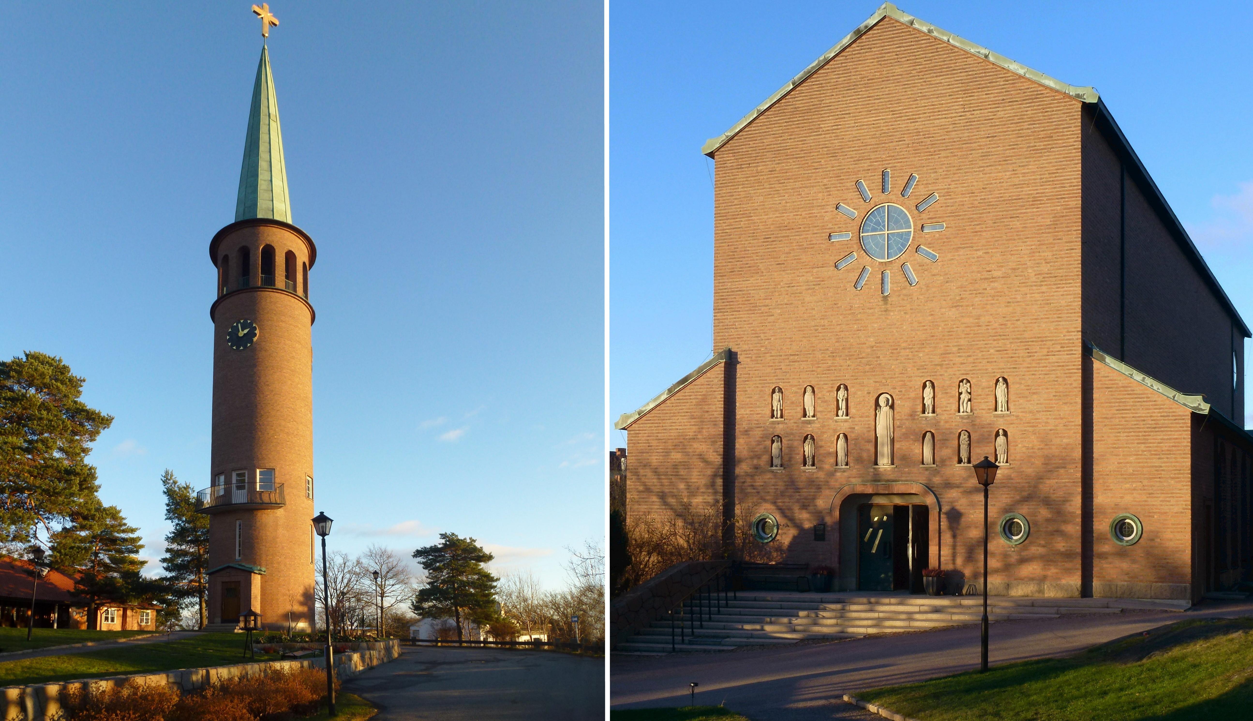 Bild av Essinge kyrka