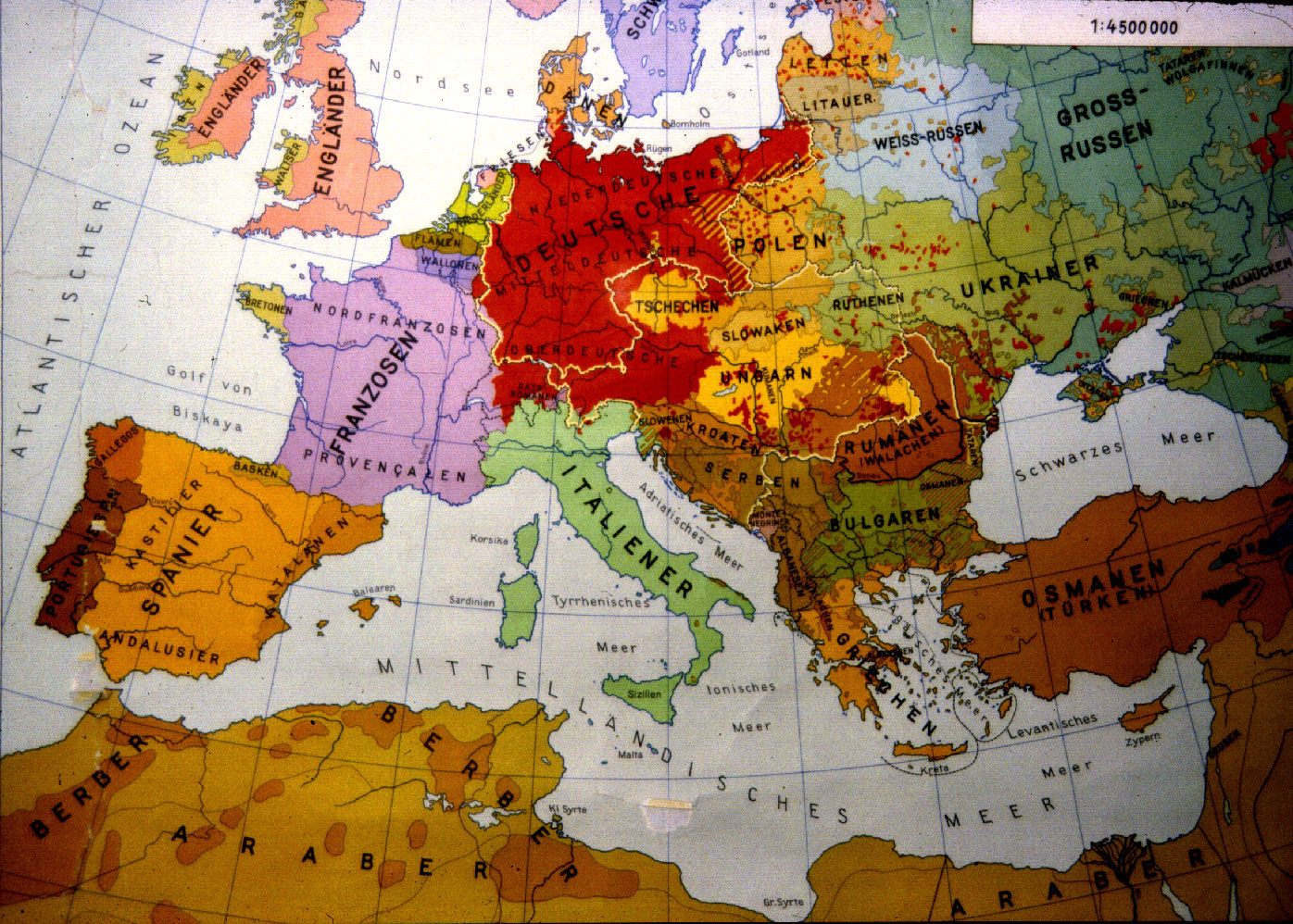 Map of the Week: Europe 1914