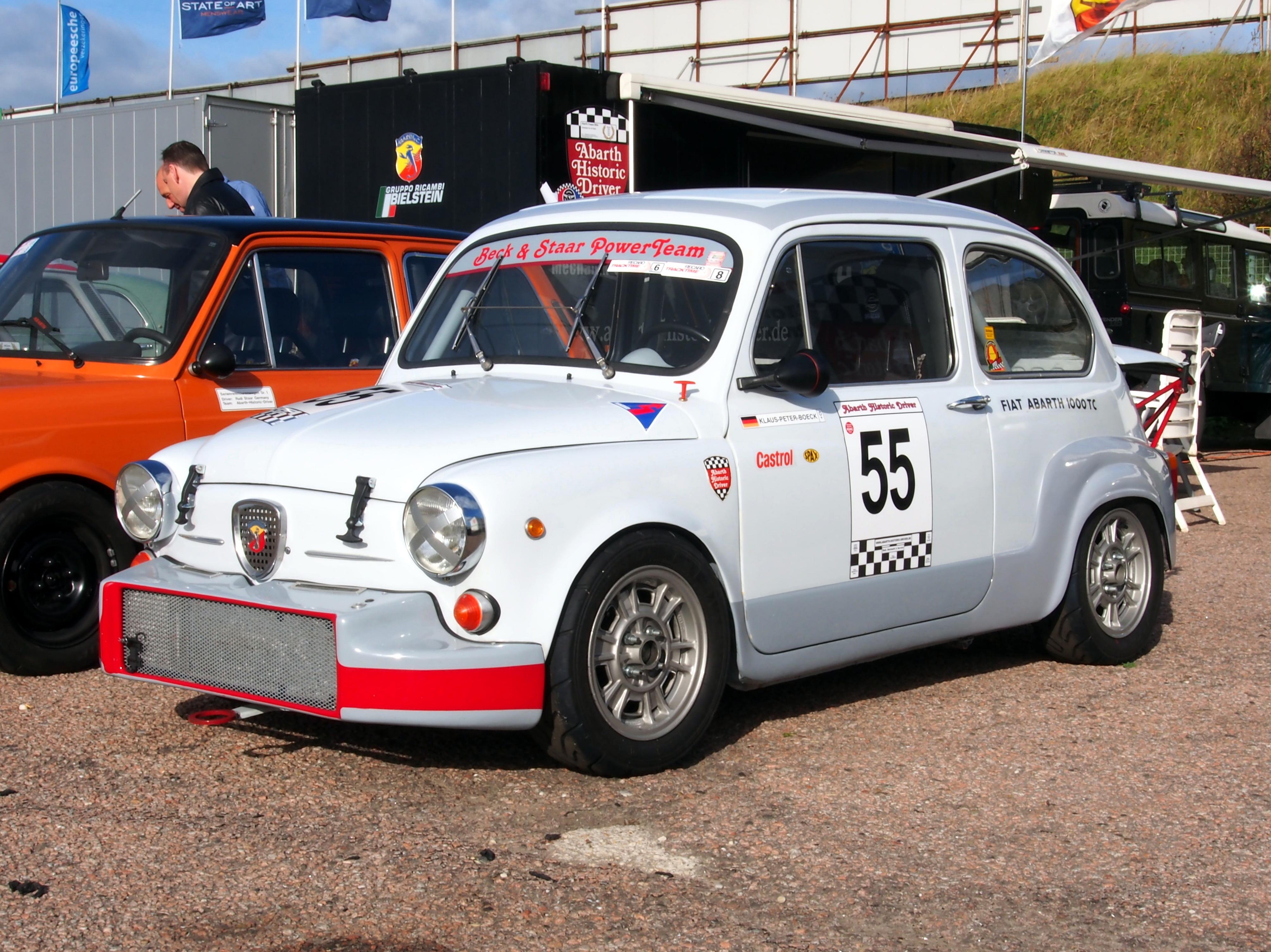 File Fiat Abarth 1000 Tc Grey Pic2 Jpg Wikimedia Commons