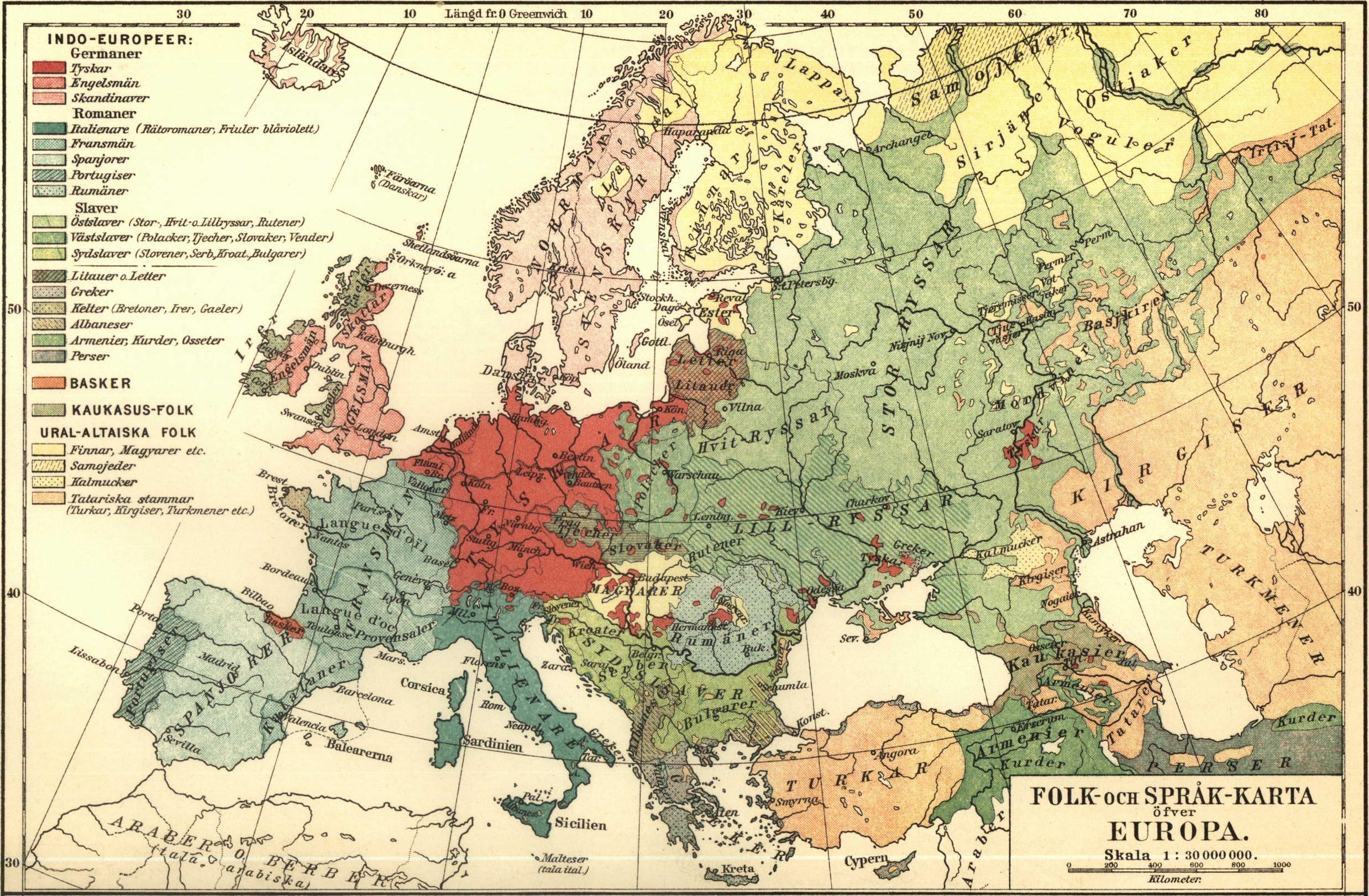 File Folk Och Sprak Karta Ofver Europa Nordisk Familjebok Jpg