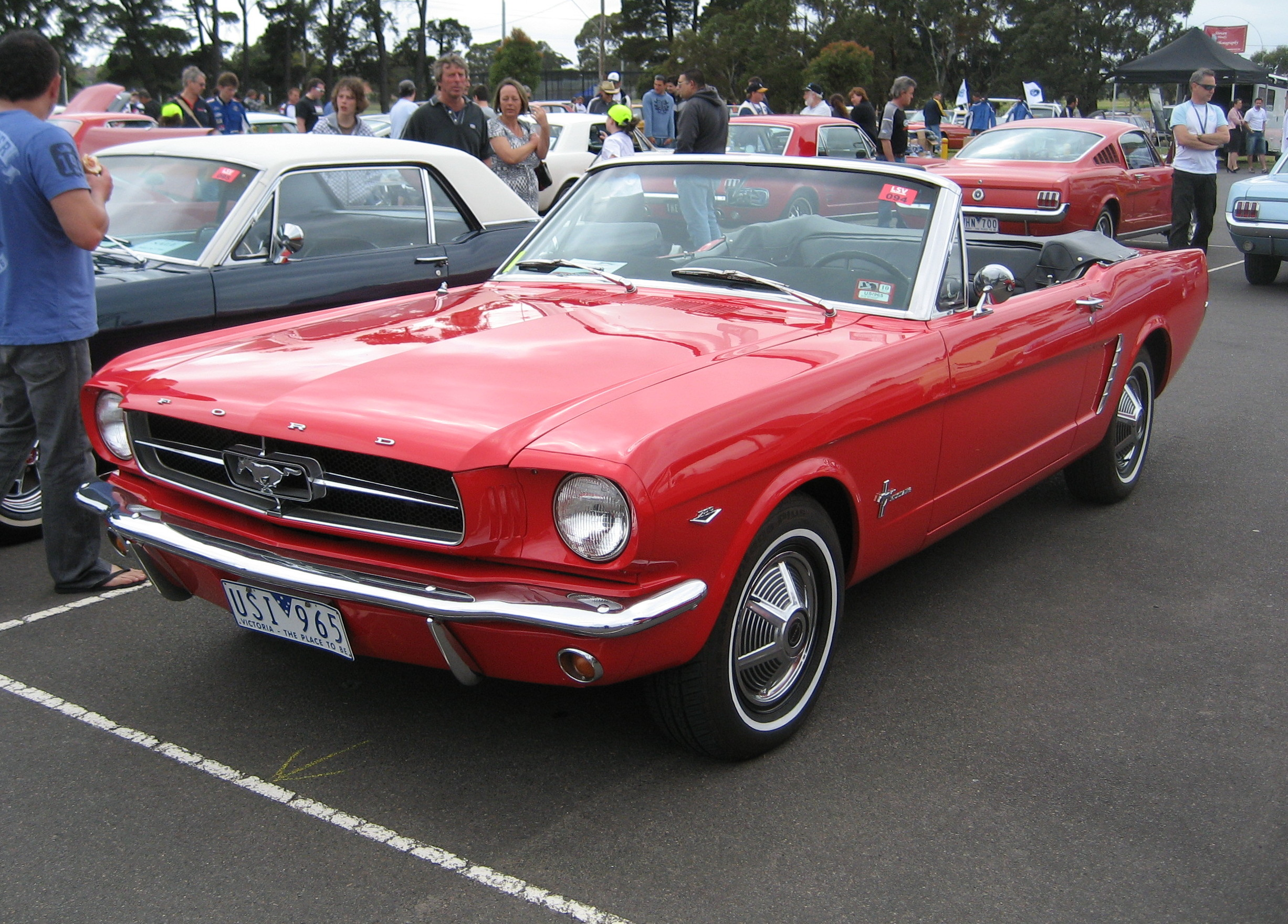 File Ford Mustang Convertible 1965 Jpg Wikimedia Commons