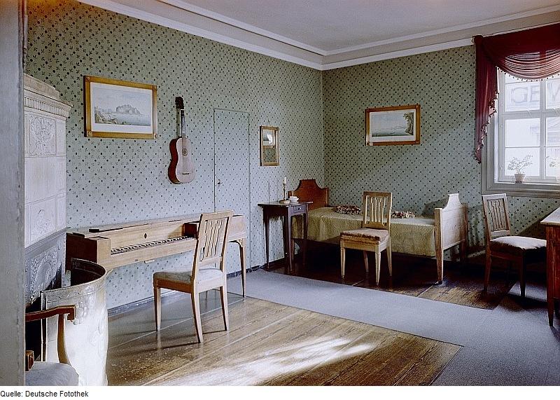 Schiller-Haus in Weimar. Fotothek df ps 0006081