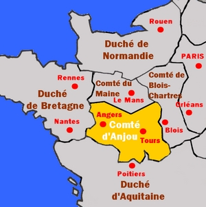 count of Anjou from 960 to 987